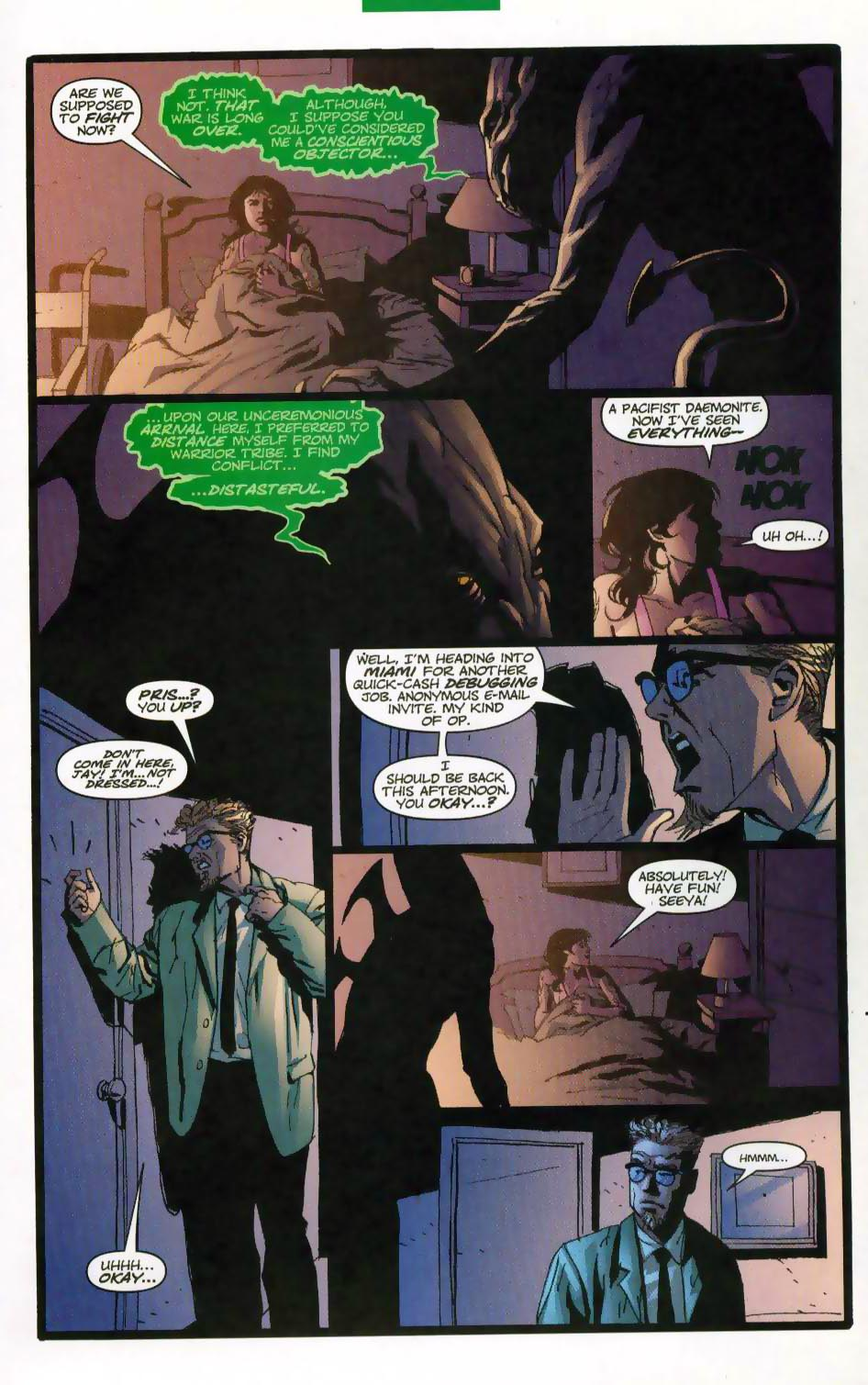 Wildcats (1999) Issue #28 #29 - English 4