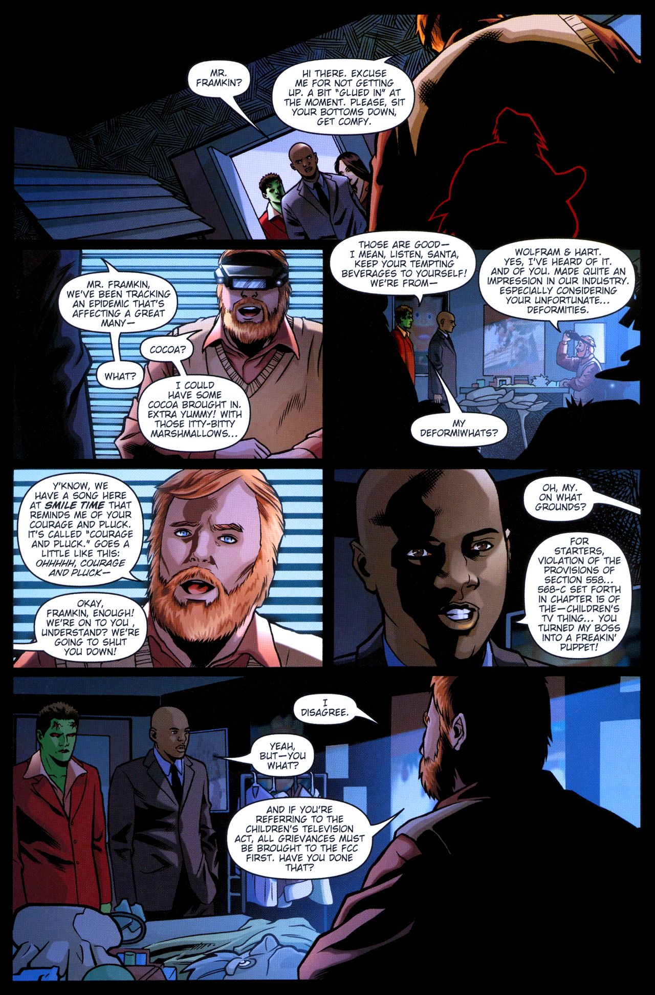 Read online Angel: Smile Time comic -  Issue #2 - 16