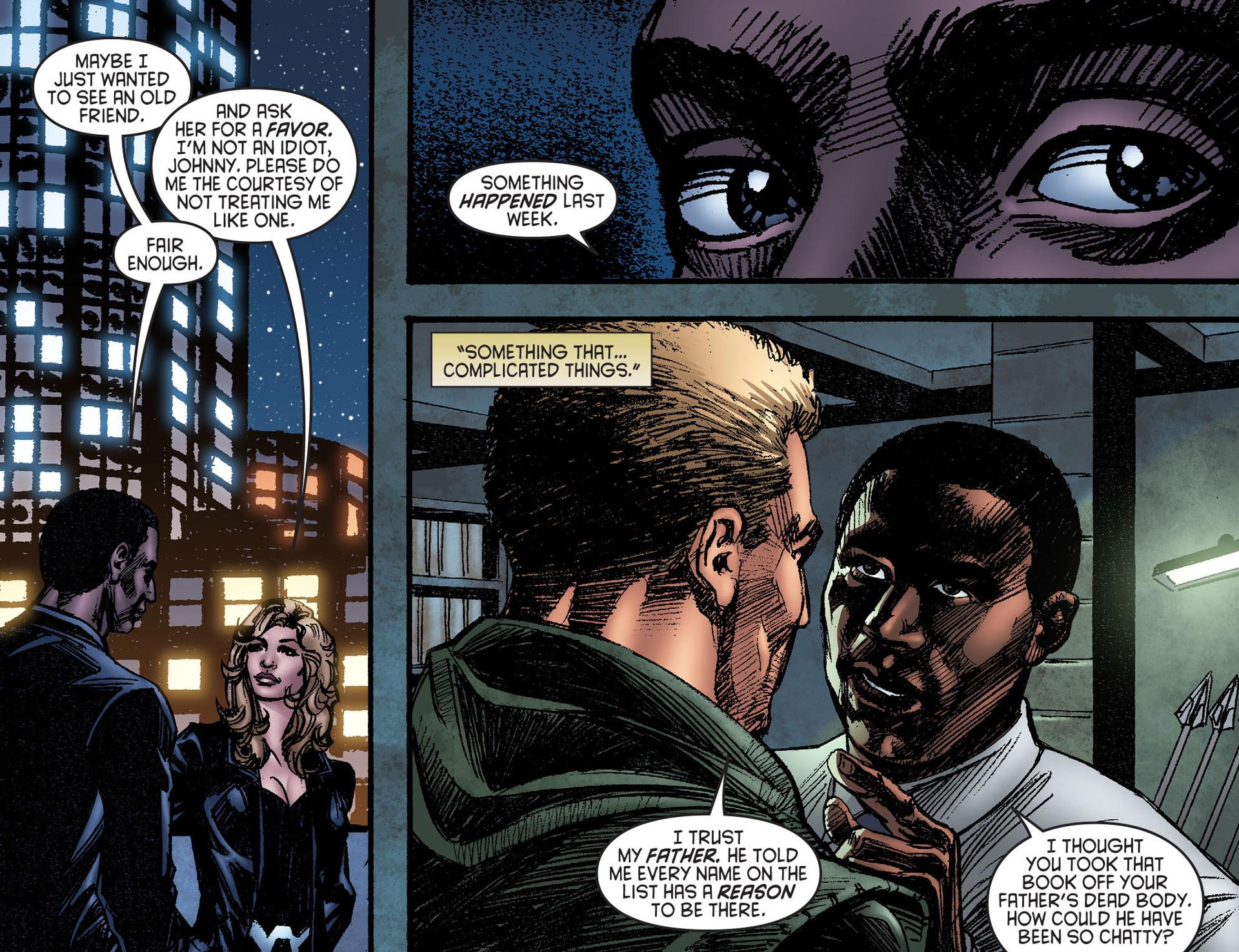 Read online Arrow [II] comic -  Issue #25 - 19