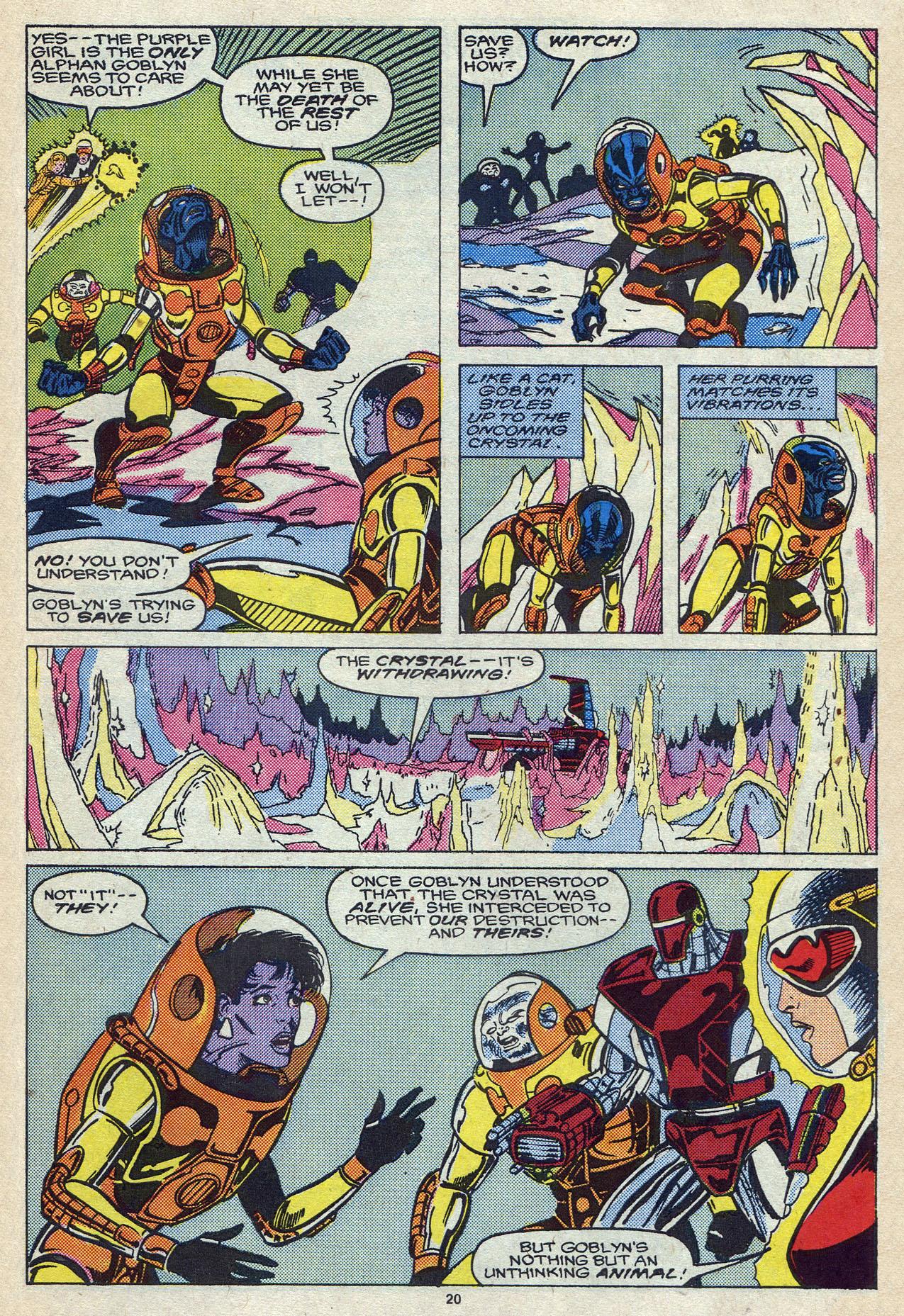 Read online Alpha Flight (1983) comic -  Issue #57 - 28