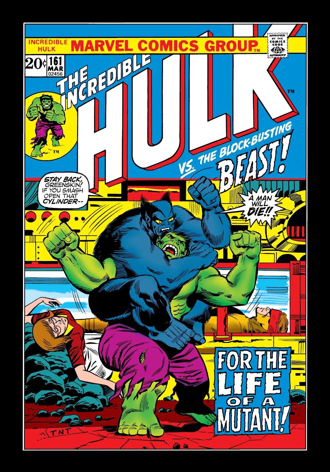 Read online Marvel Masterworks: The Incredible Hulk comic -  Issue # TPB 9 (Part 1) - 93