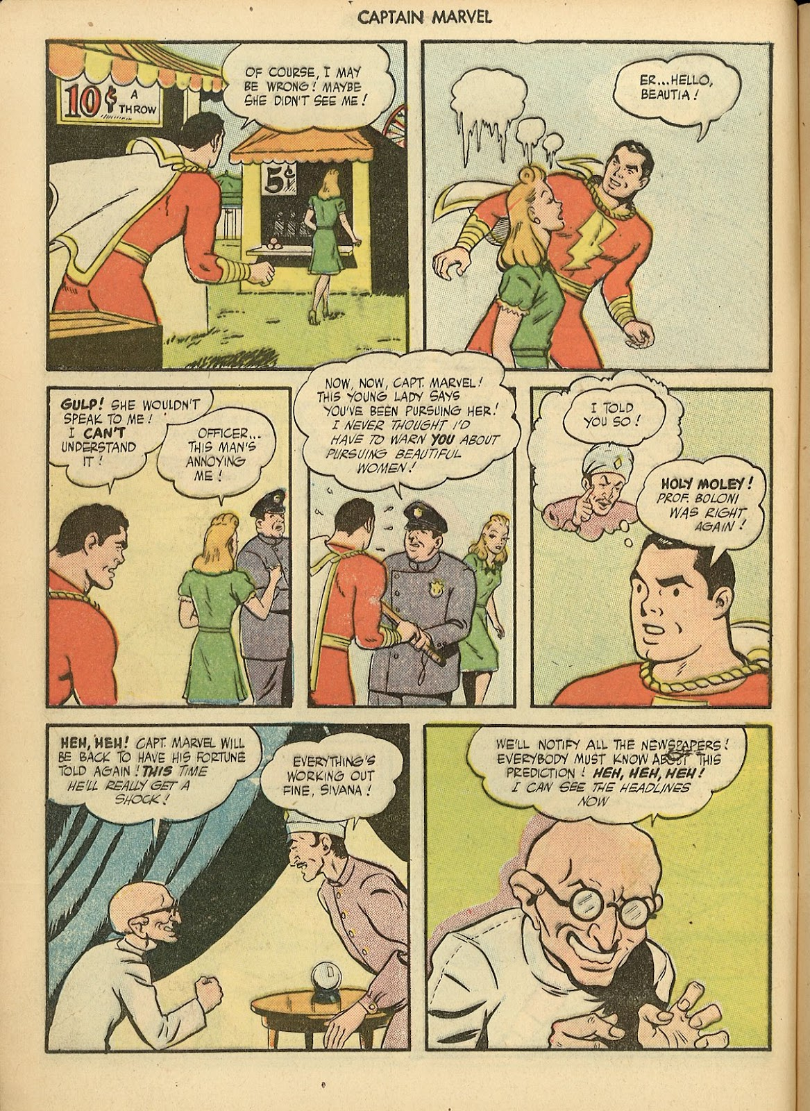 Captain Marvel Adventures issue 70 - Page 8