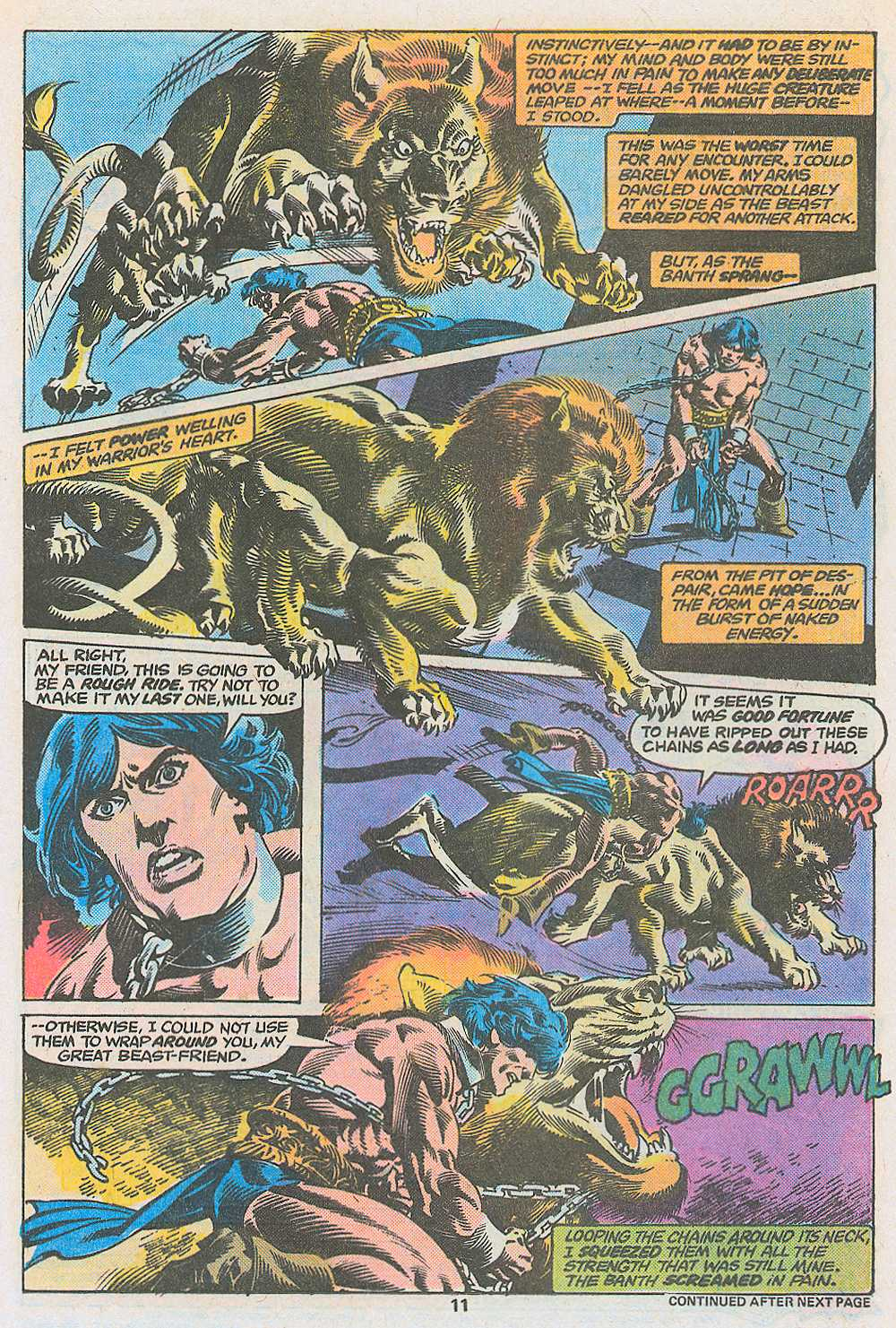 John Carter Warlord of Mars issue 3 - Page 13