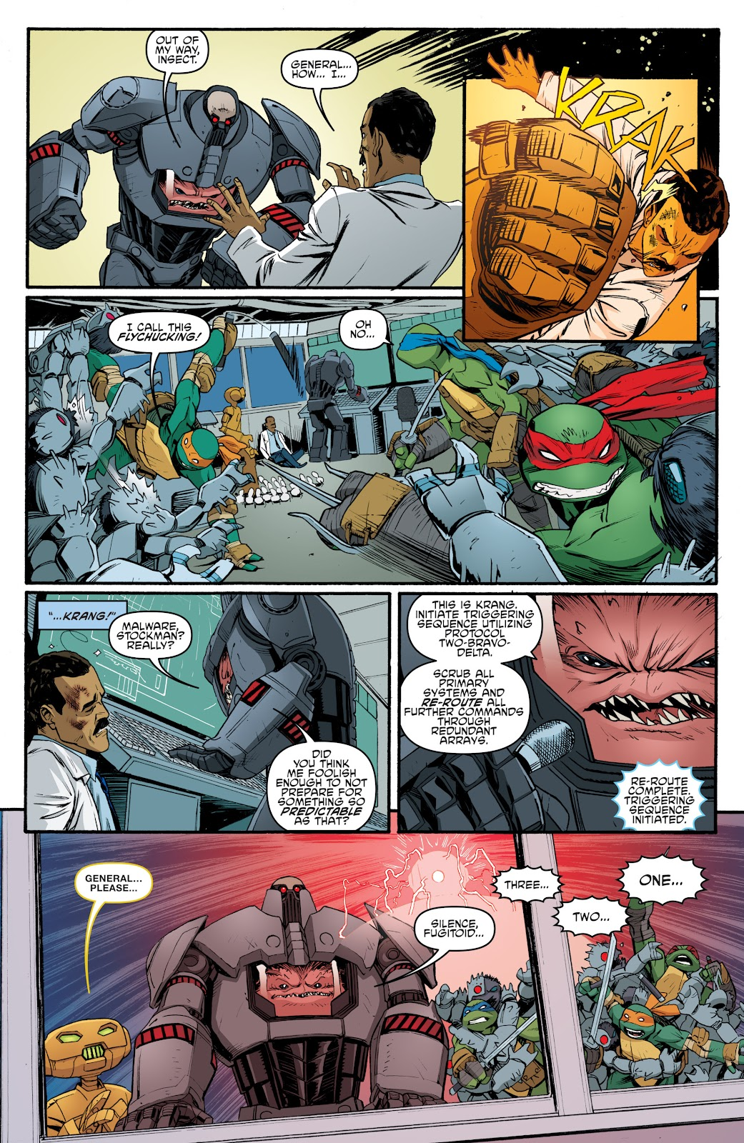Read online Teenage Mutant Ninja Turtles: The IDW Collection comic -  Issue # TPB 5 (Part 4) - 30