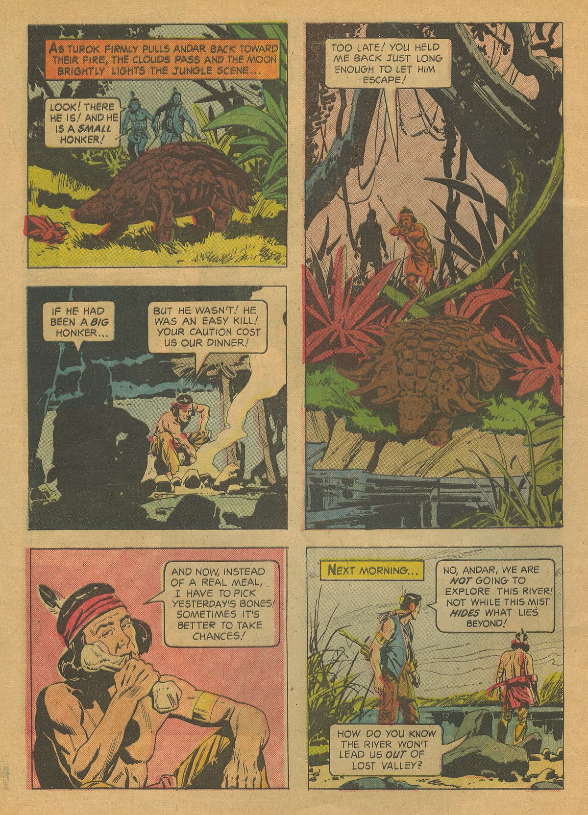 Read online Turok, Son of Stone comic -  Issue #37 - 4