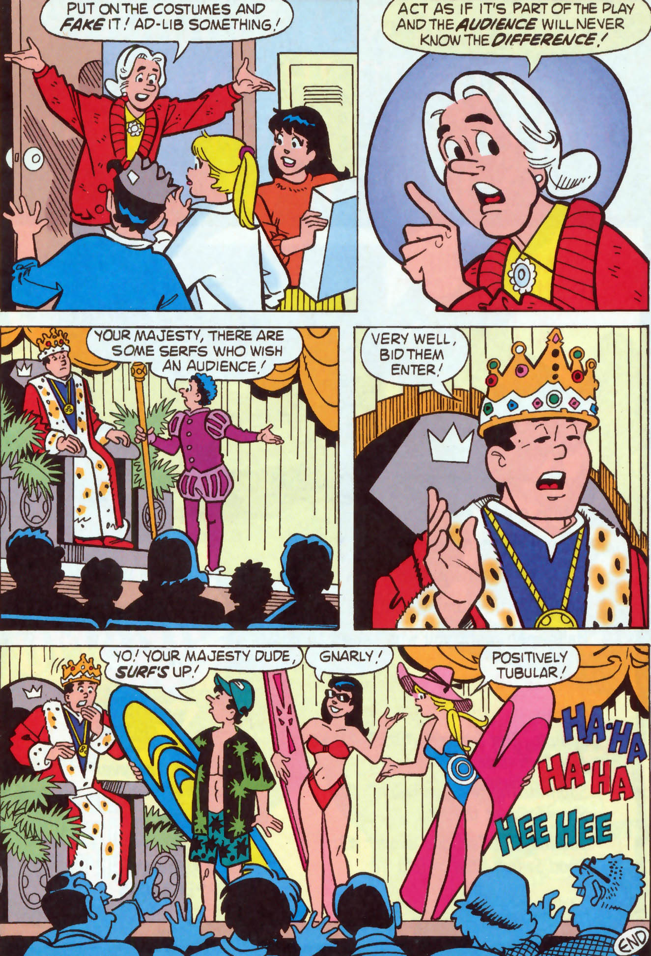 Read online Archie (1960) comic -  Issue #465 - 25