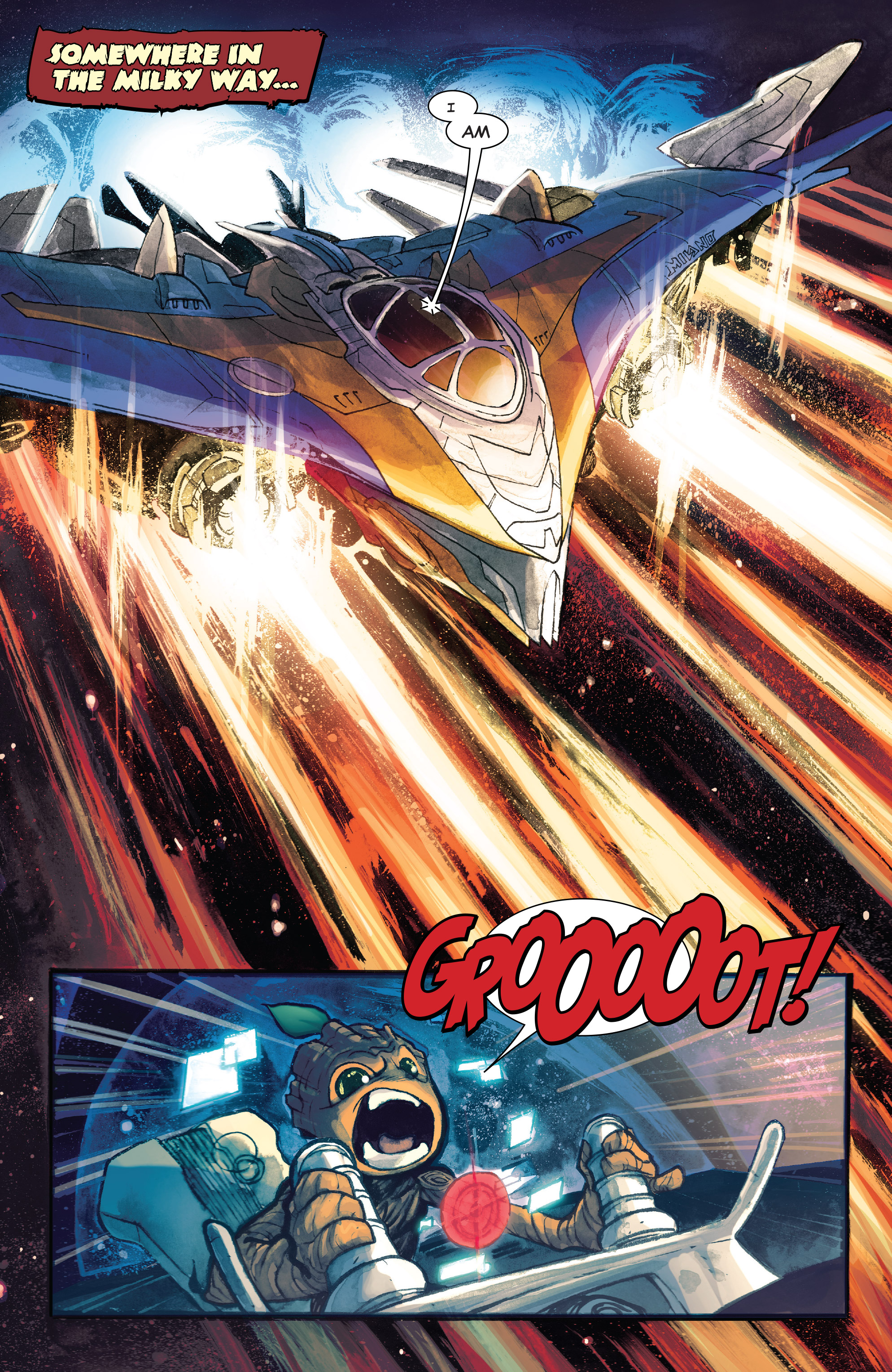 Read online I Am Groot comic -  Issue #1 - 3