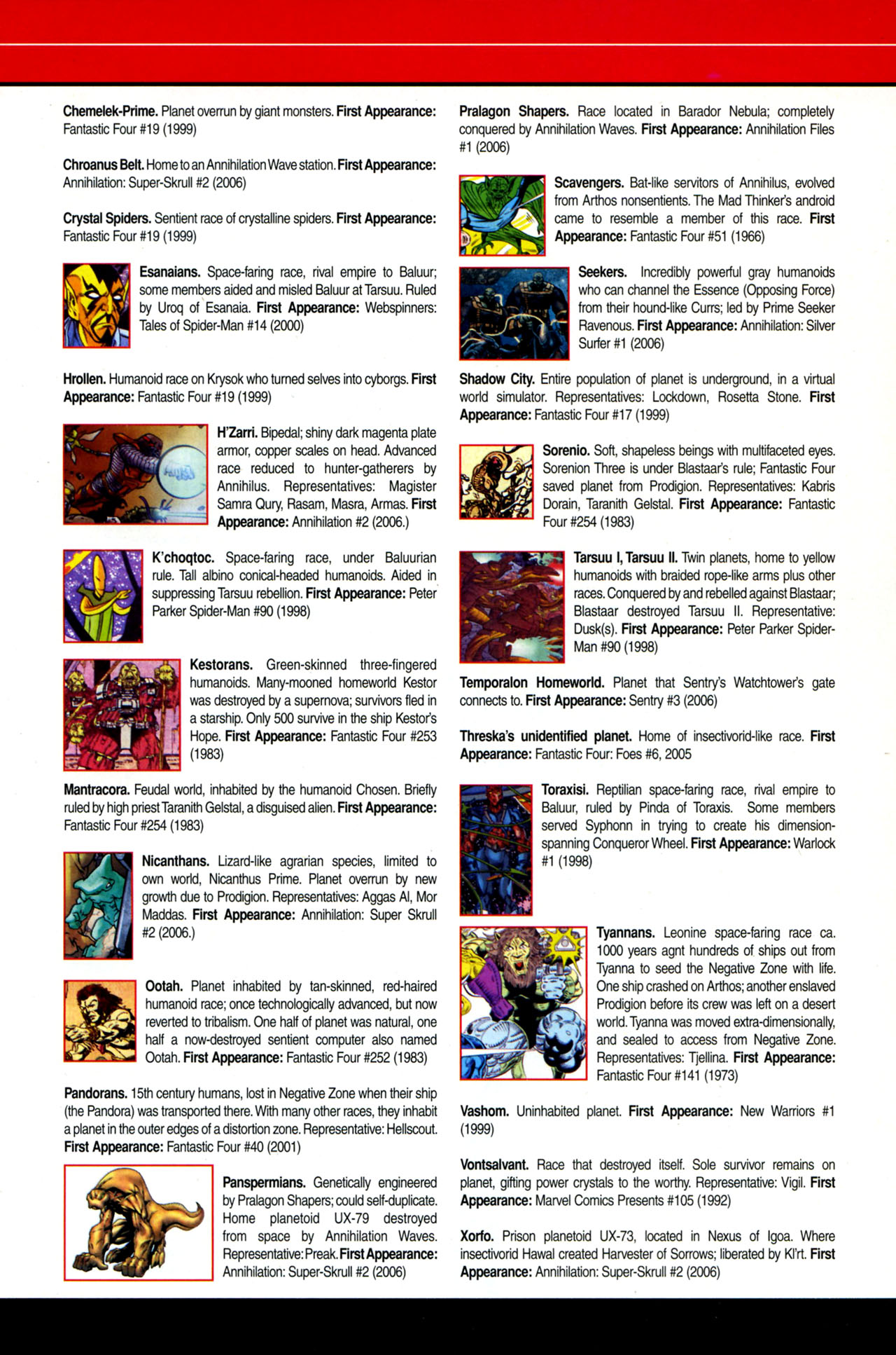 Read online All-New Official Handbook of the Marvel Universe A to Z: Update comic -  Issue #4 - 27
