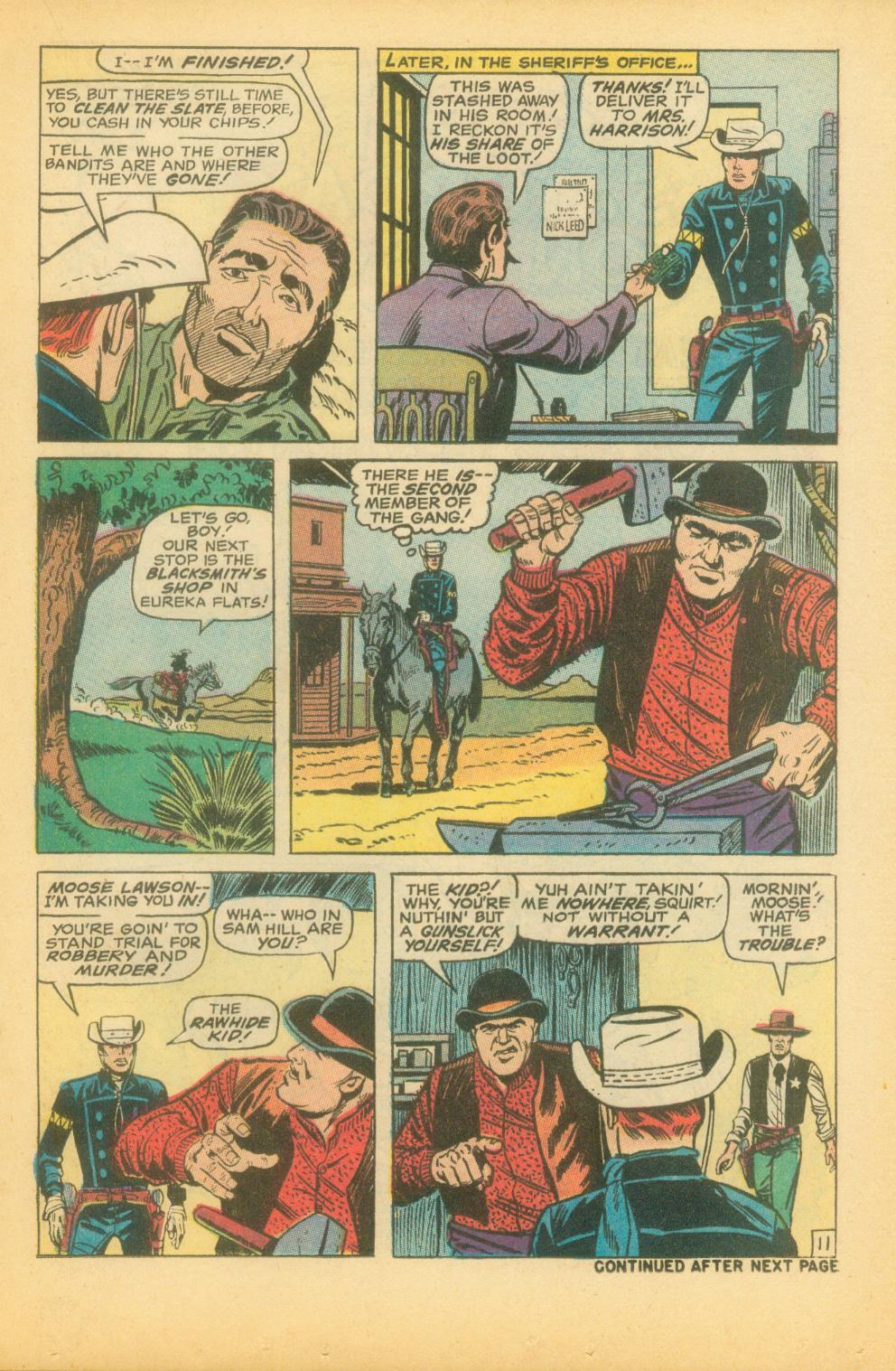 The Rawhide Kid (1955) issue 73 - Page 18
