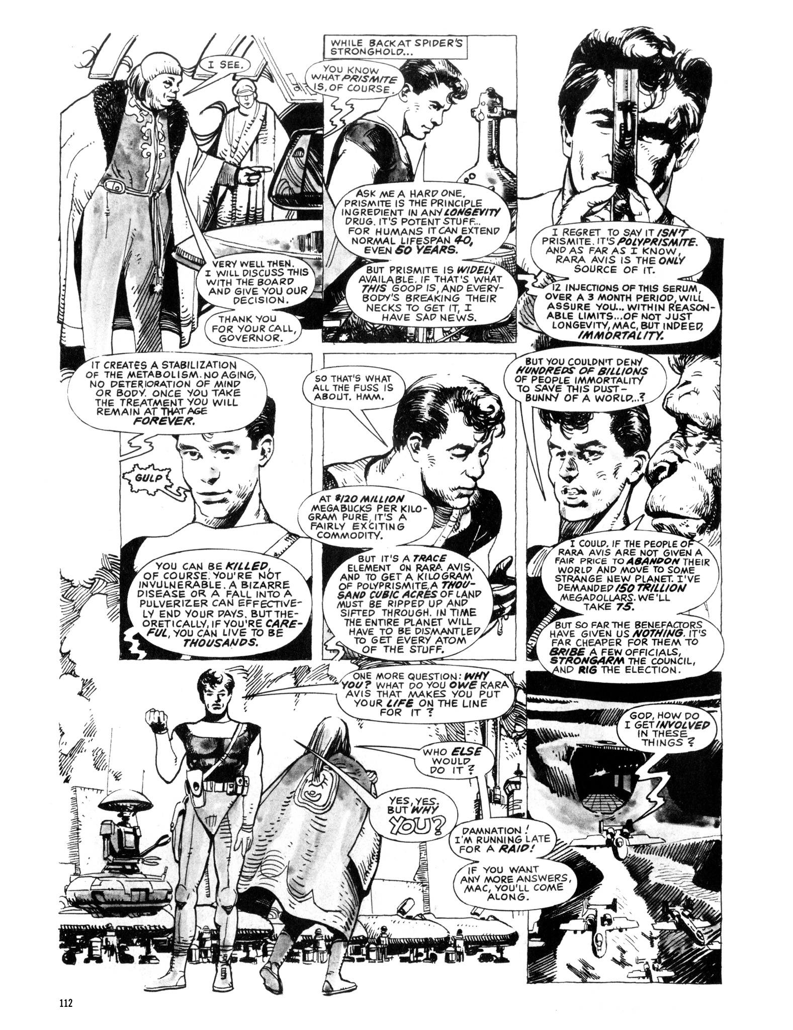 Read online Eerie Archives comic -  Issue # TPB 20 - 112