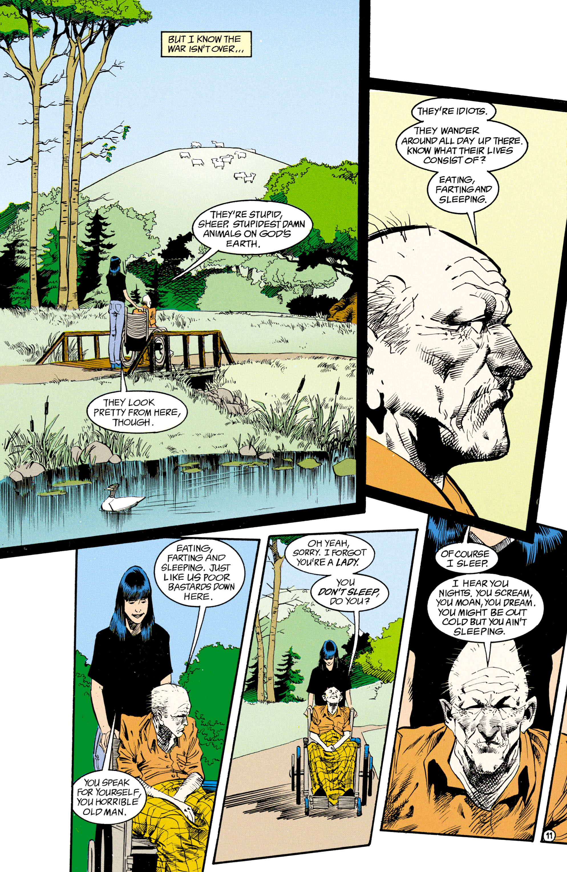 Read online Shade, the Changing Man comic -  Issue #15 - 8