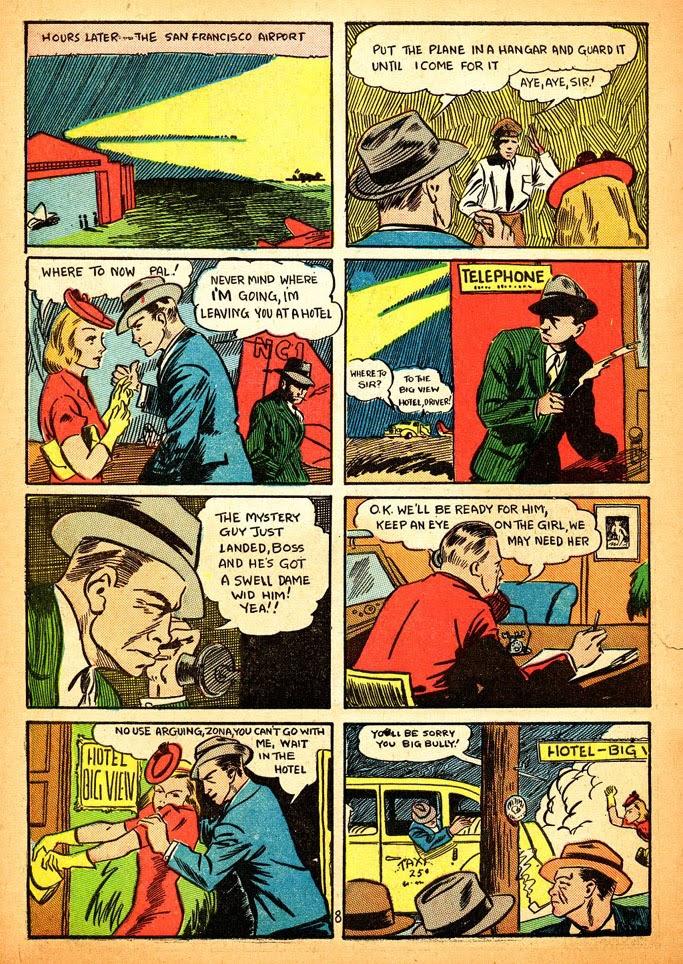 Read online Amazing Man Comics comic -  Issue #12 - 10