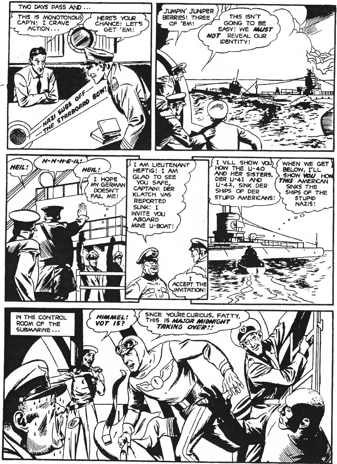 Captain Midnight (1942) issue 11 - Page 15
