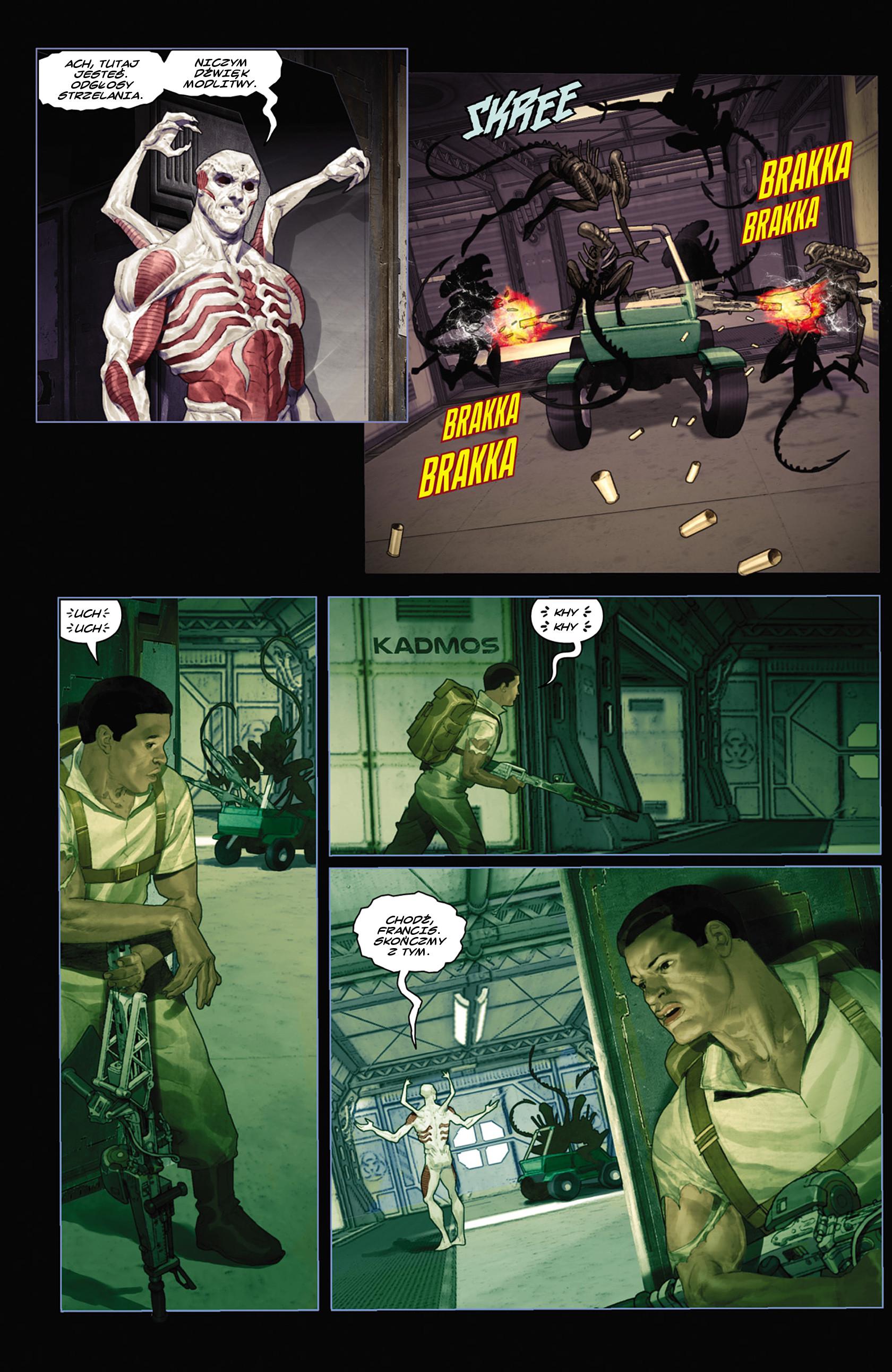 Read online Alien vs. Predator: Fire and Stone comic -  Issue #2 - 22