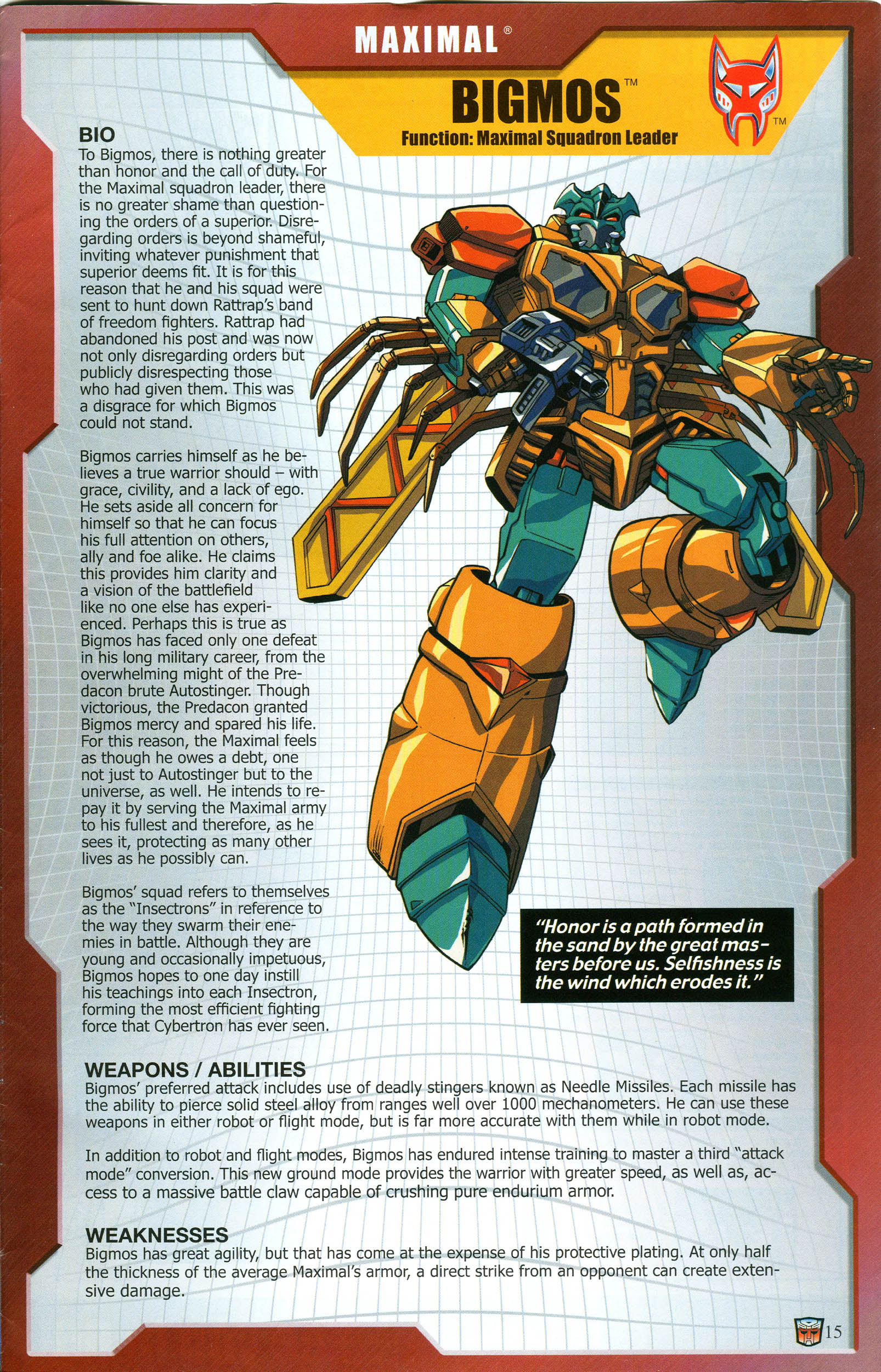 Read online Transformers: Collectors' Club comic -  Issue #57 - 15