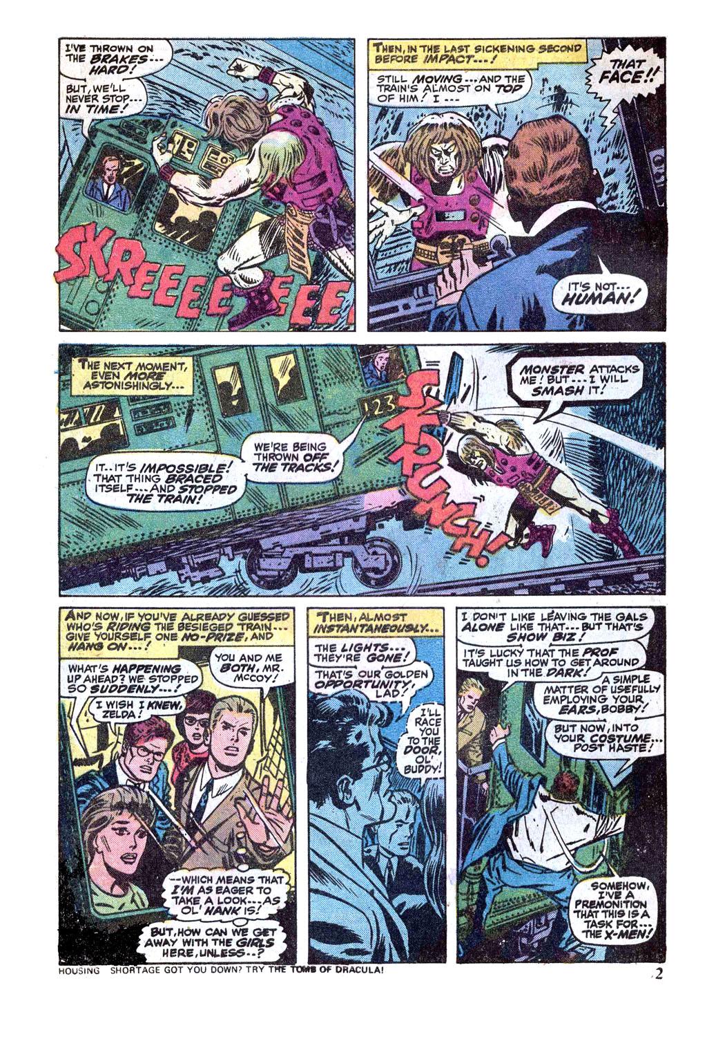 Uncanny X-Men (1963) 89 Page 2