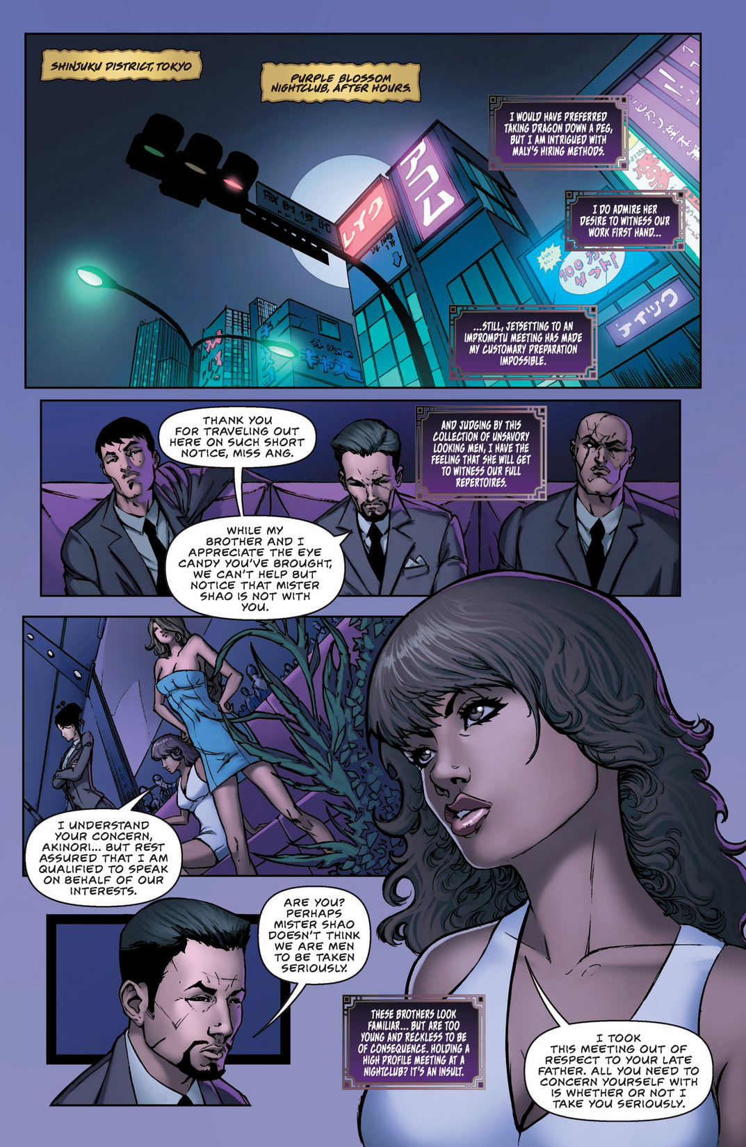 Read online All New Executive Assistant: Iris comic -  Issue #1 - 12