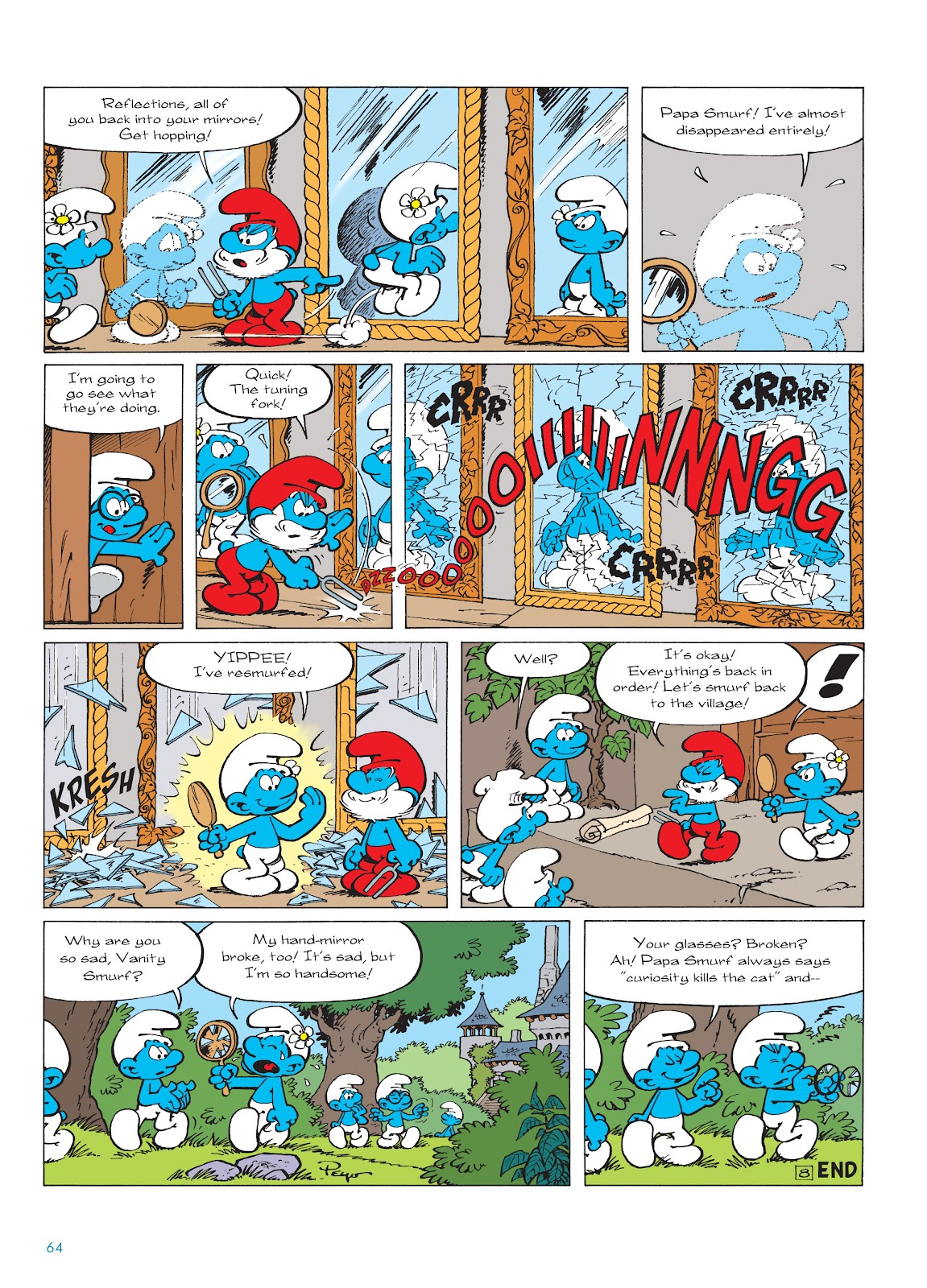 Read online The Smurfs comic -  Issue #22 - 65
