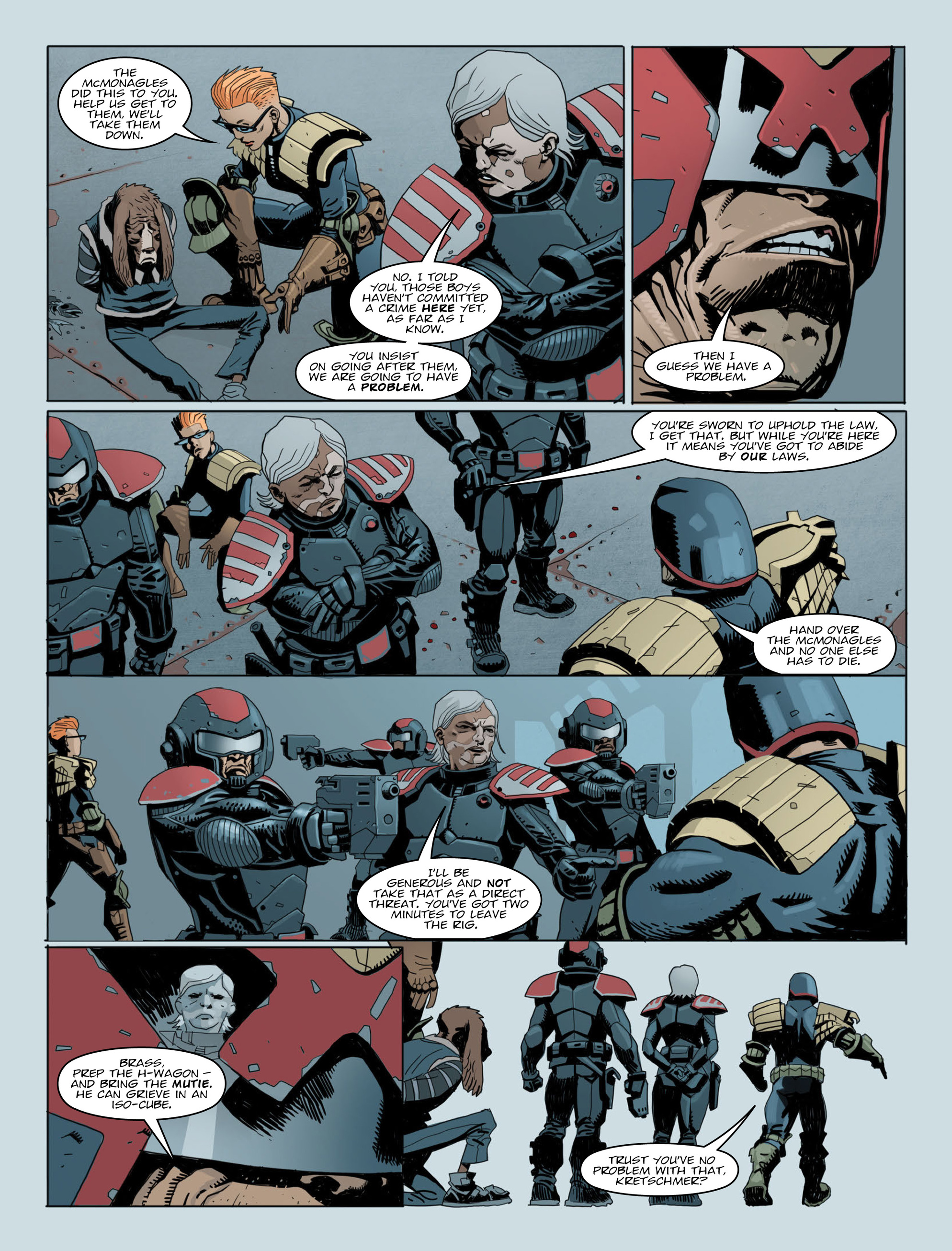 Read online 2000 AD comic -  Issue #2014 - 4