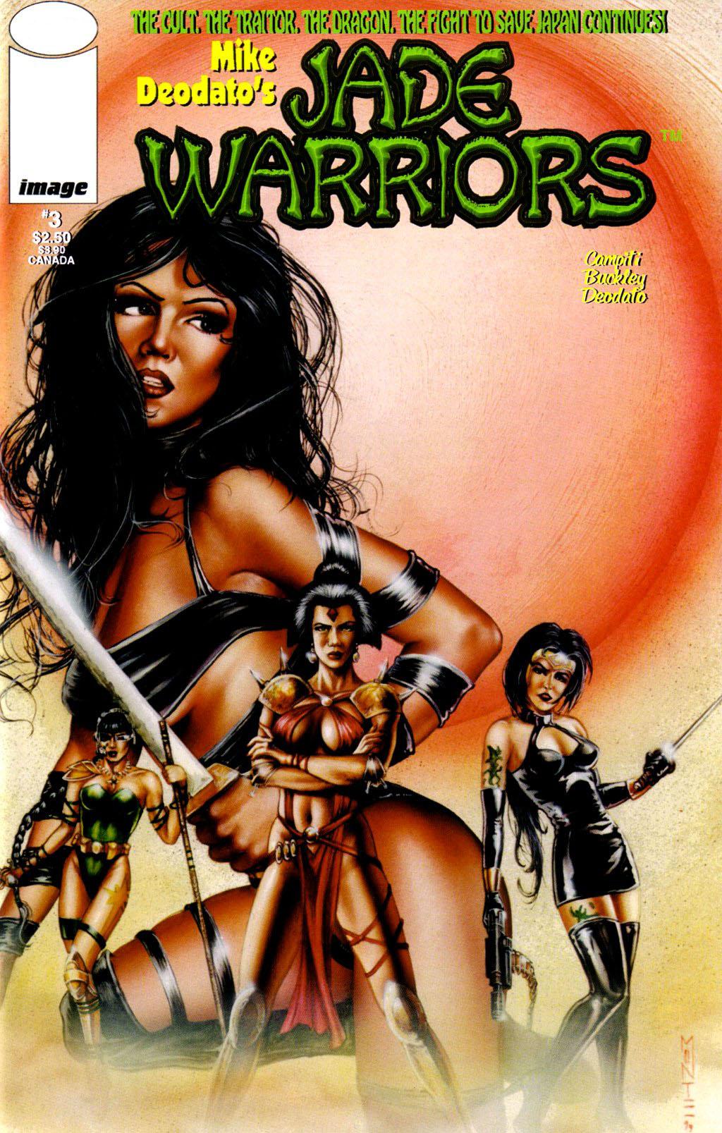 Read online Jade Warriors comic -  Issue #3 - 1