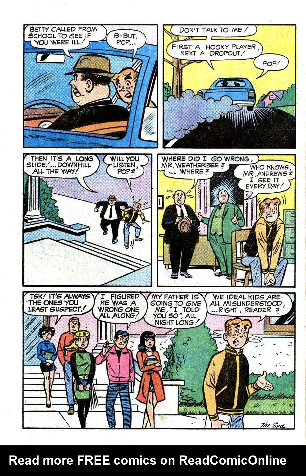 Read online Archie (1960) comic -  Issue #207 - 24