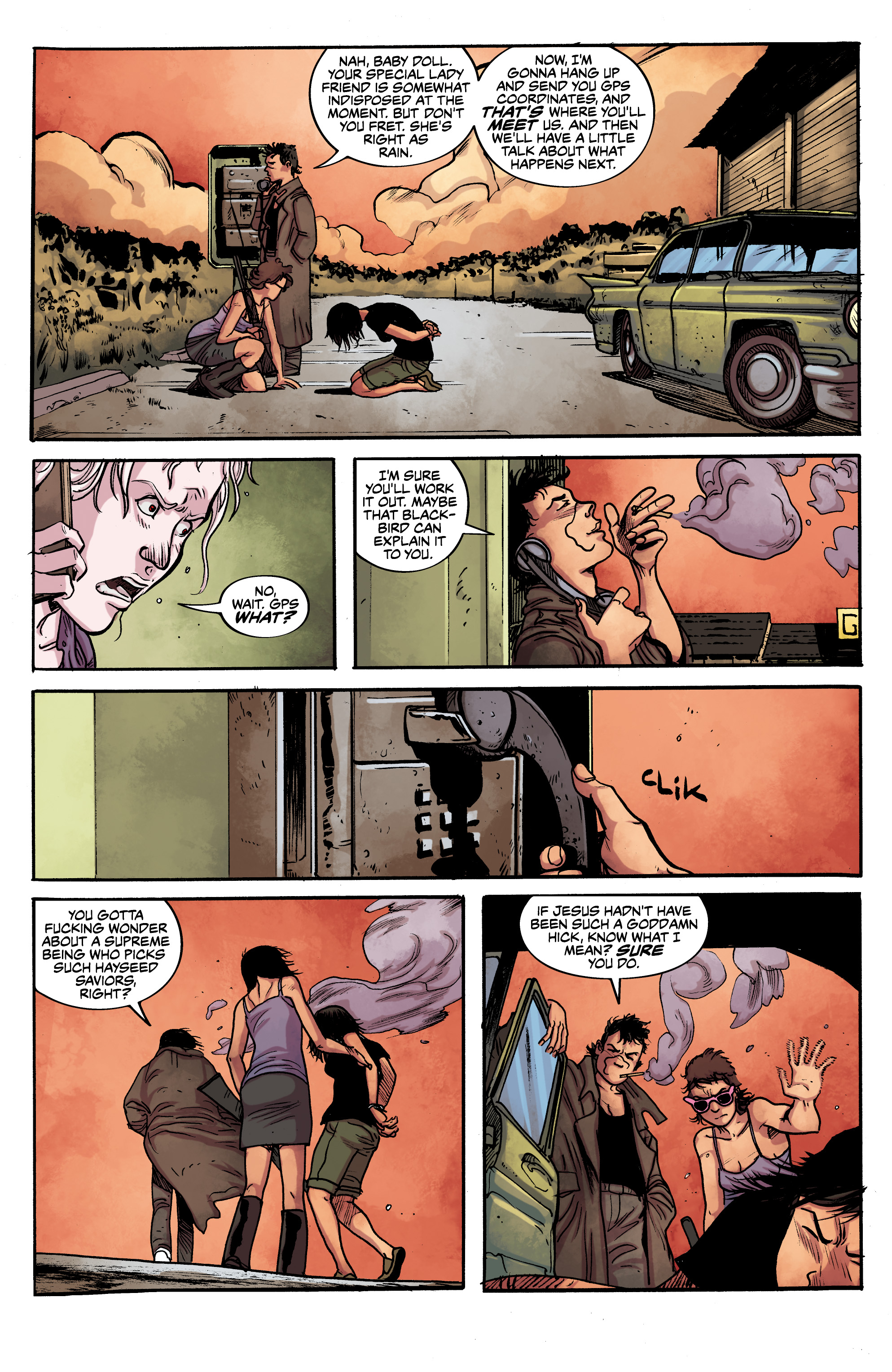 Read online Alabaster: The Good, the Bad and the Bird comic -  Issue #4 - 13