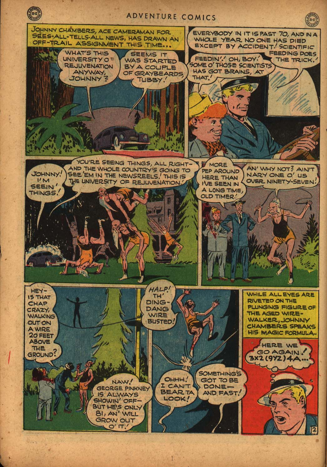 Read online Adventure Comics (1938) comic -  Issue #109 - 20