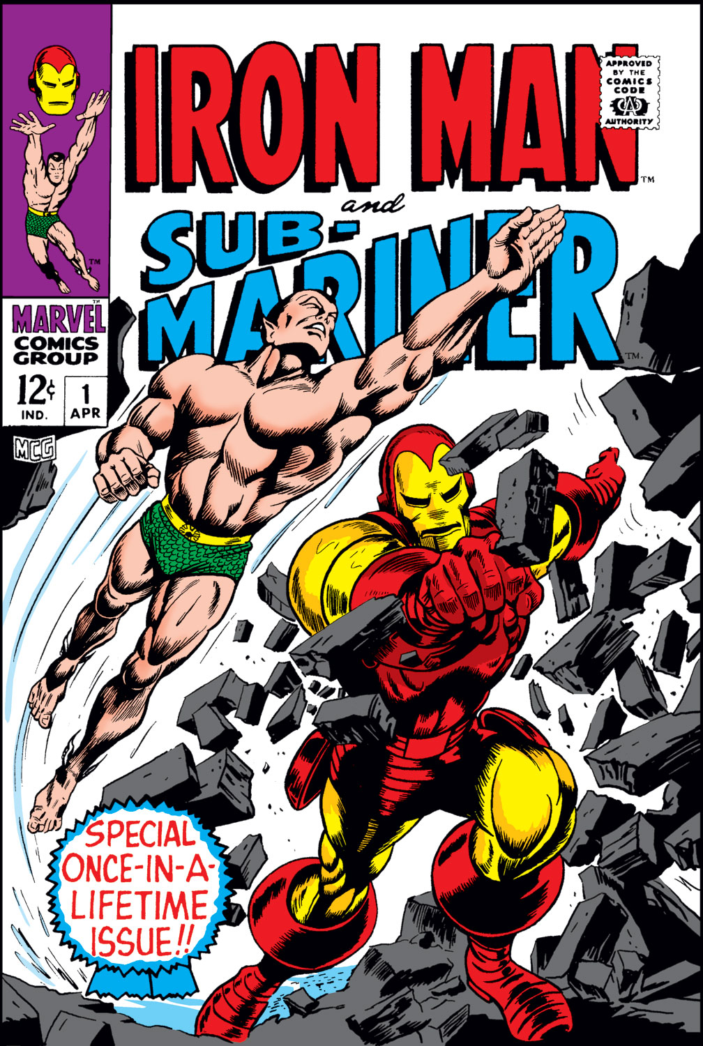Iron Man and Sub-Mariner issue Full - Page 1