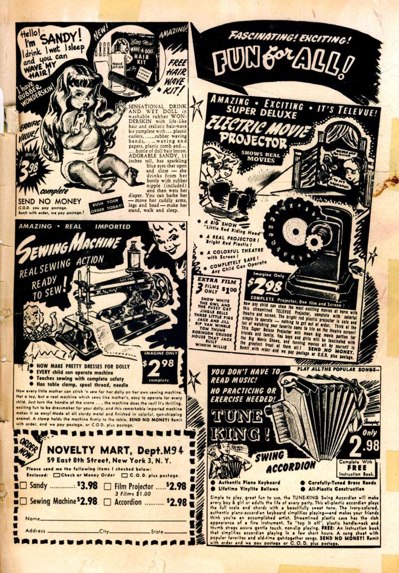 Read online Sensation (Mystery) Comics comic -  Issue #99 - 51