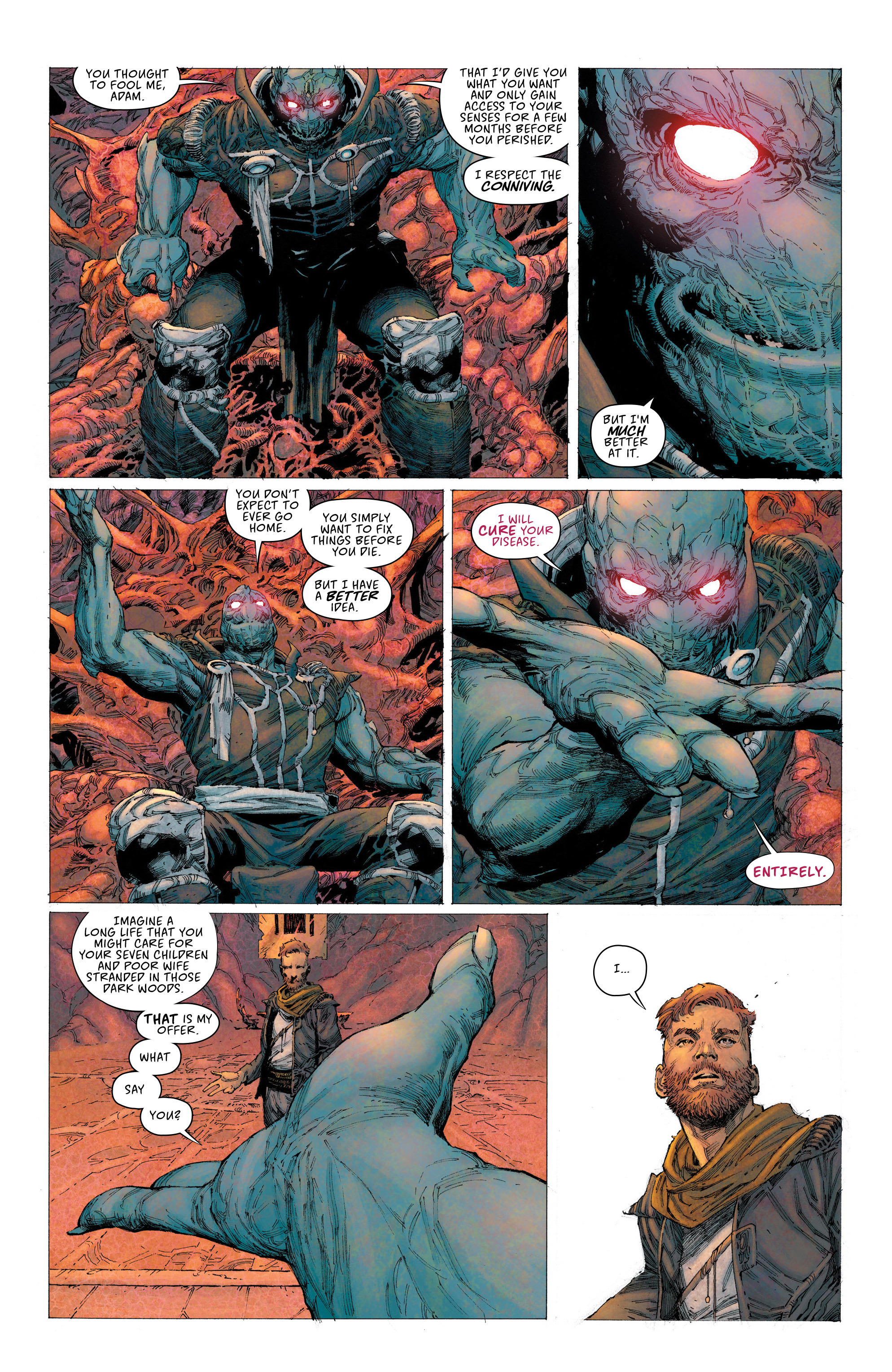 Read online Seven To Eternity comic -  Issue #2 - 14