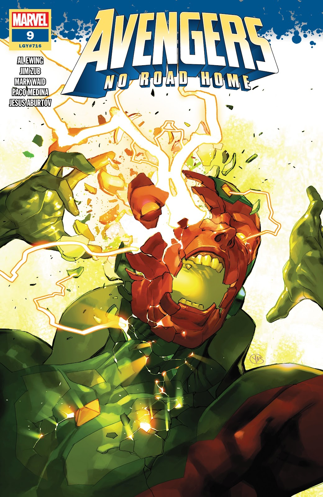 Read online Avengers No Road Home comic -  Issue #9 - 1
