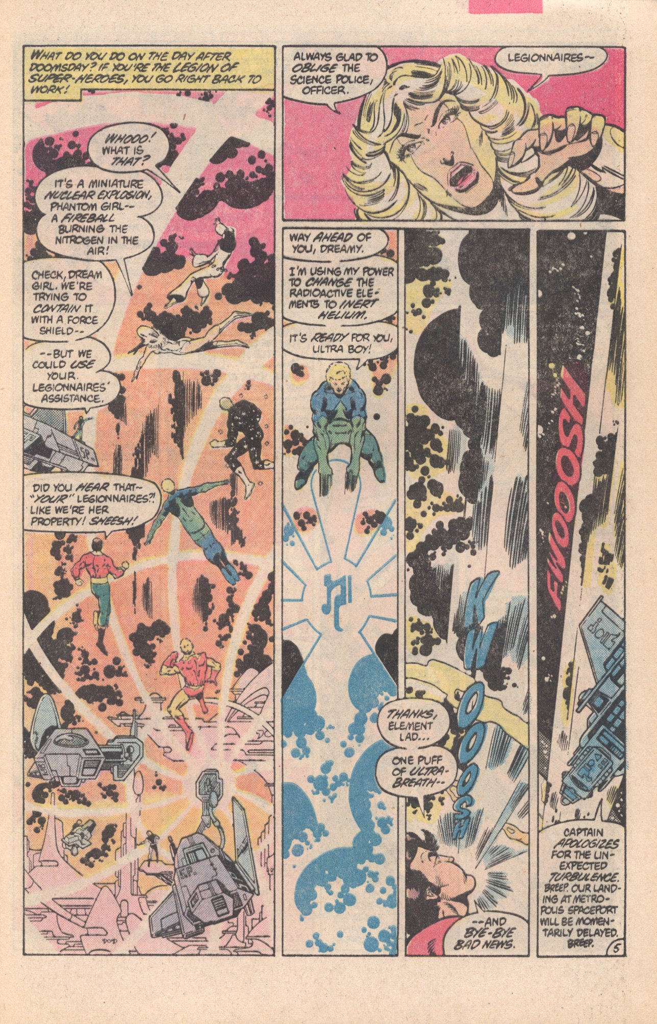 Legion of Super-Heroes (1980) 296 Page 5