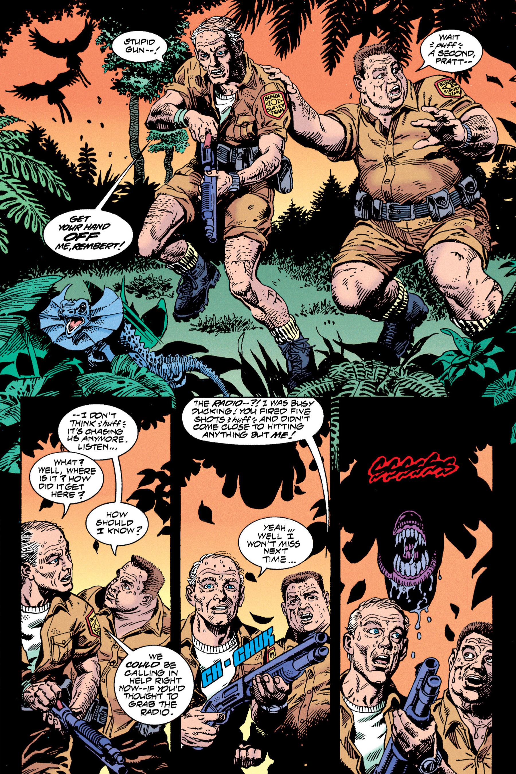 Read online Aliens vs. Predator Omnibus comic -  Issue # _TPB 1 Part 3 - 69