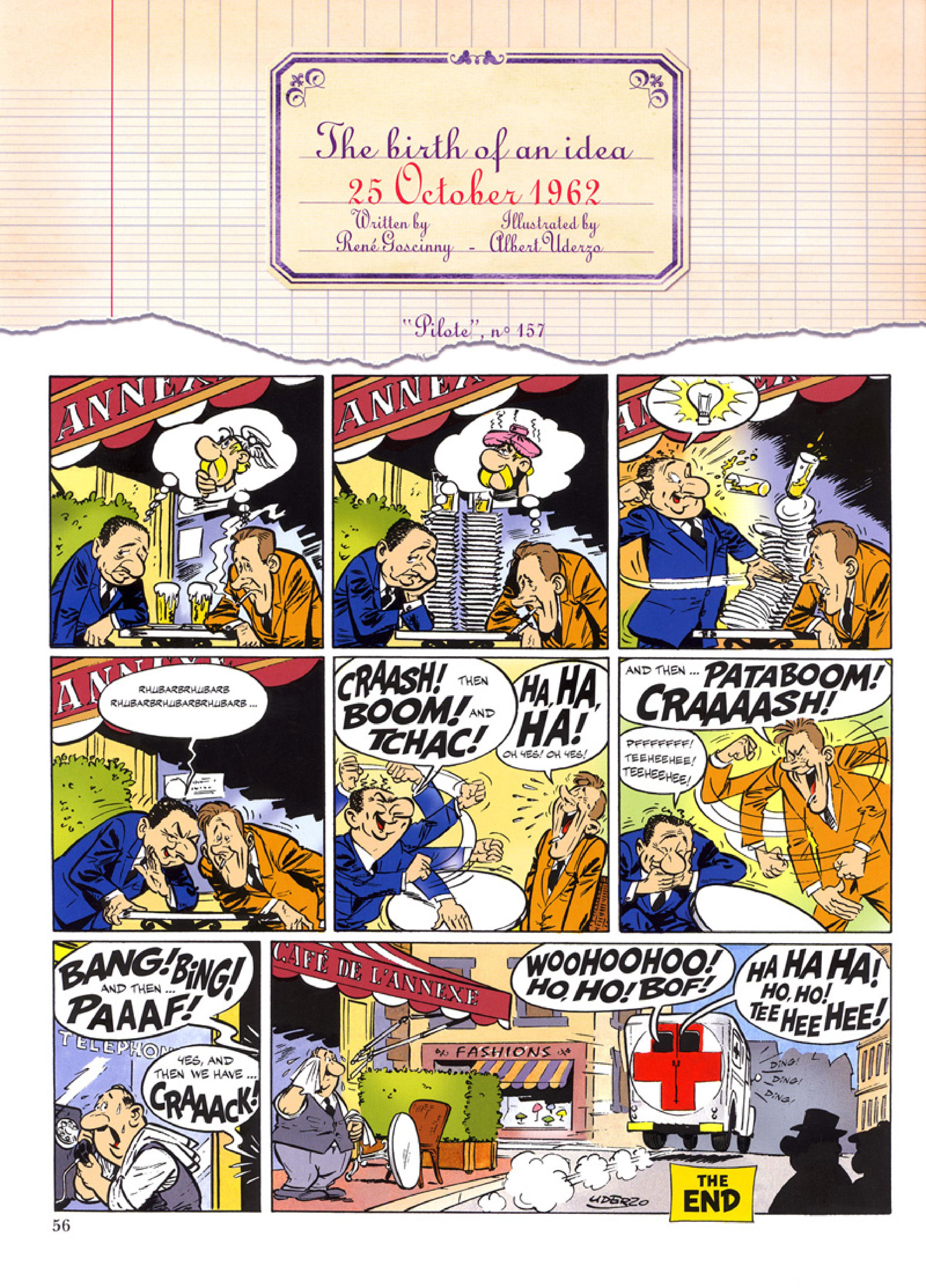 Read online Asterix comic -  Issue #32 - 57