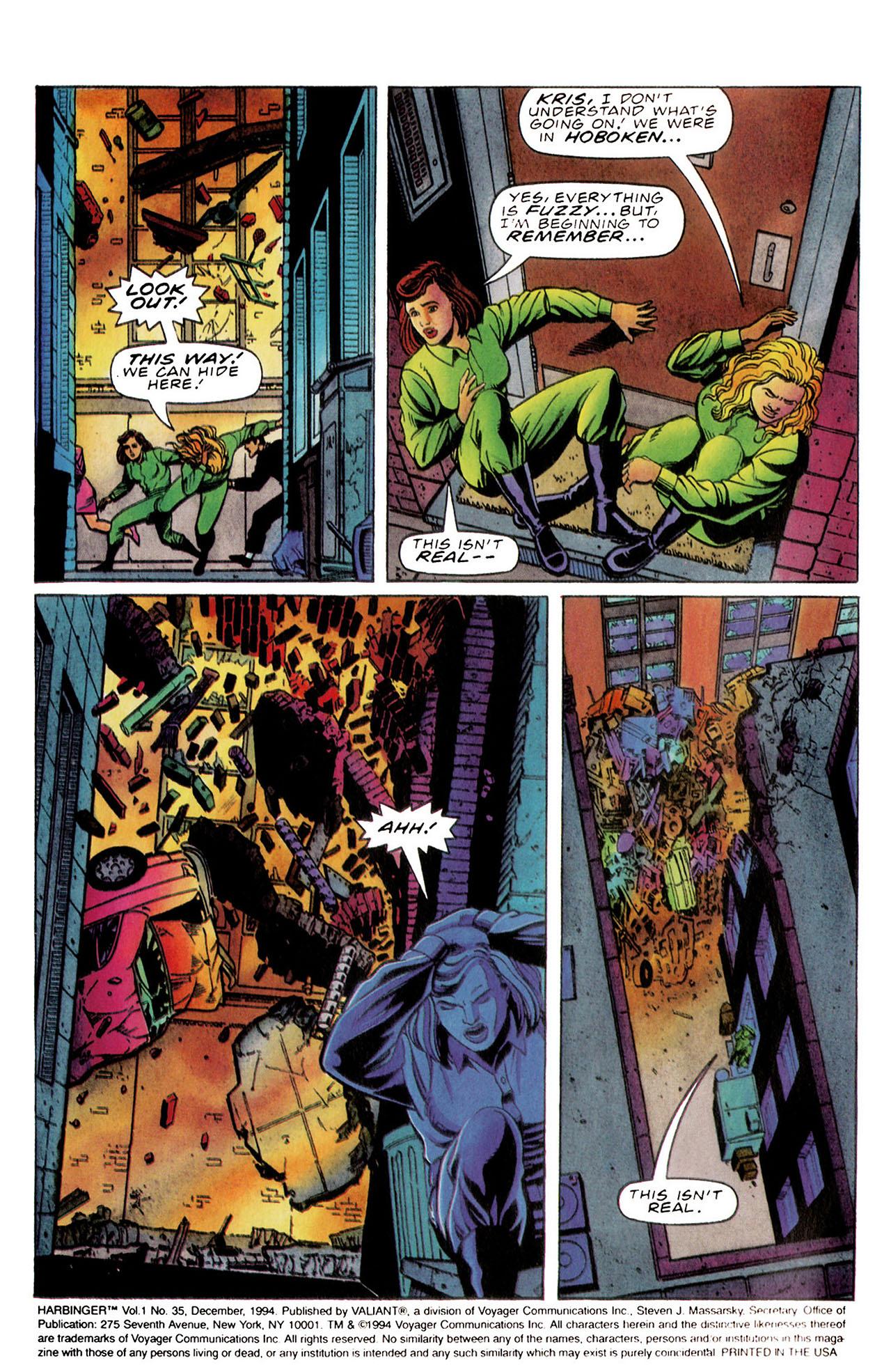 Read online Harbinger (1992) comic -  Issue #35 - 3