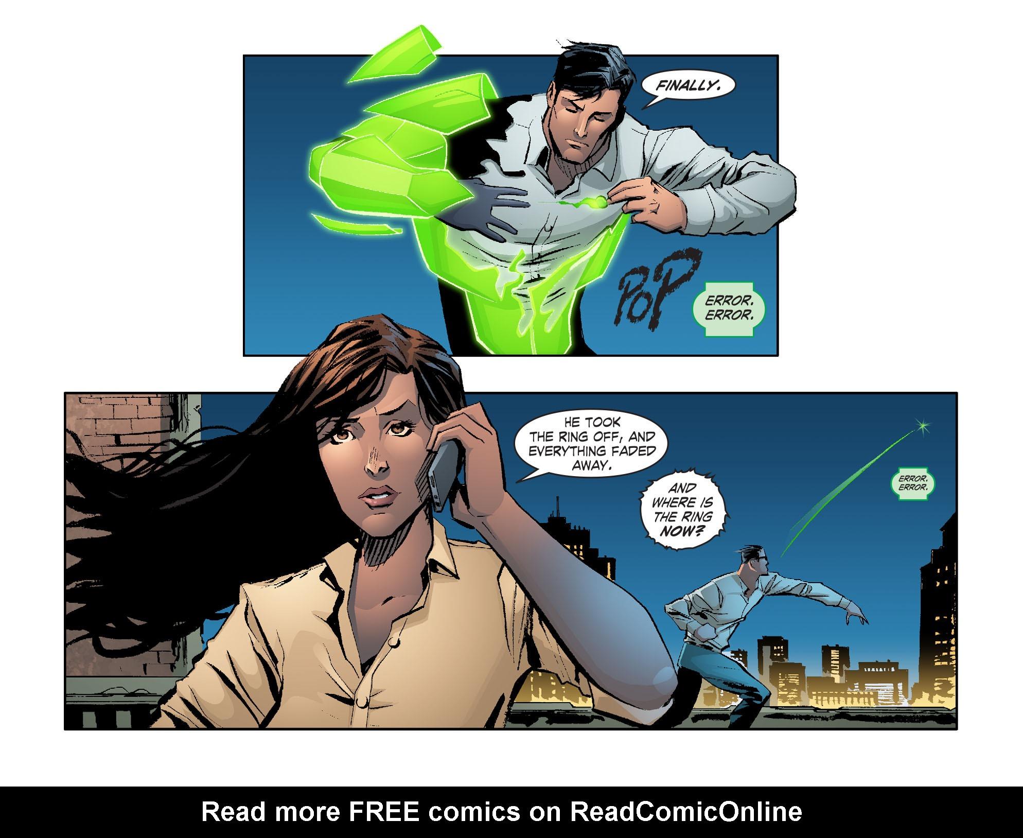 Read online Smallville: Lantern [I] comic -  Issue #2 - 12