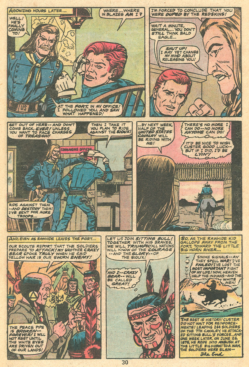The Rawhide Kid (1955) issue 131 - Page 32