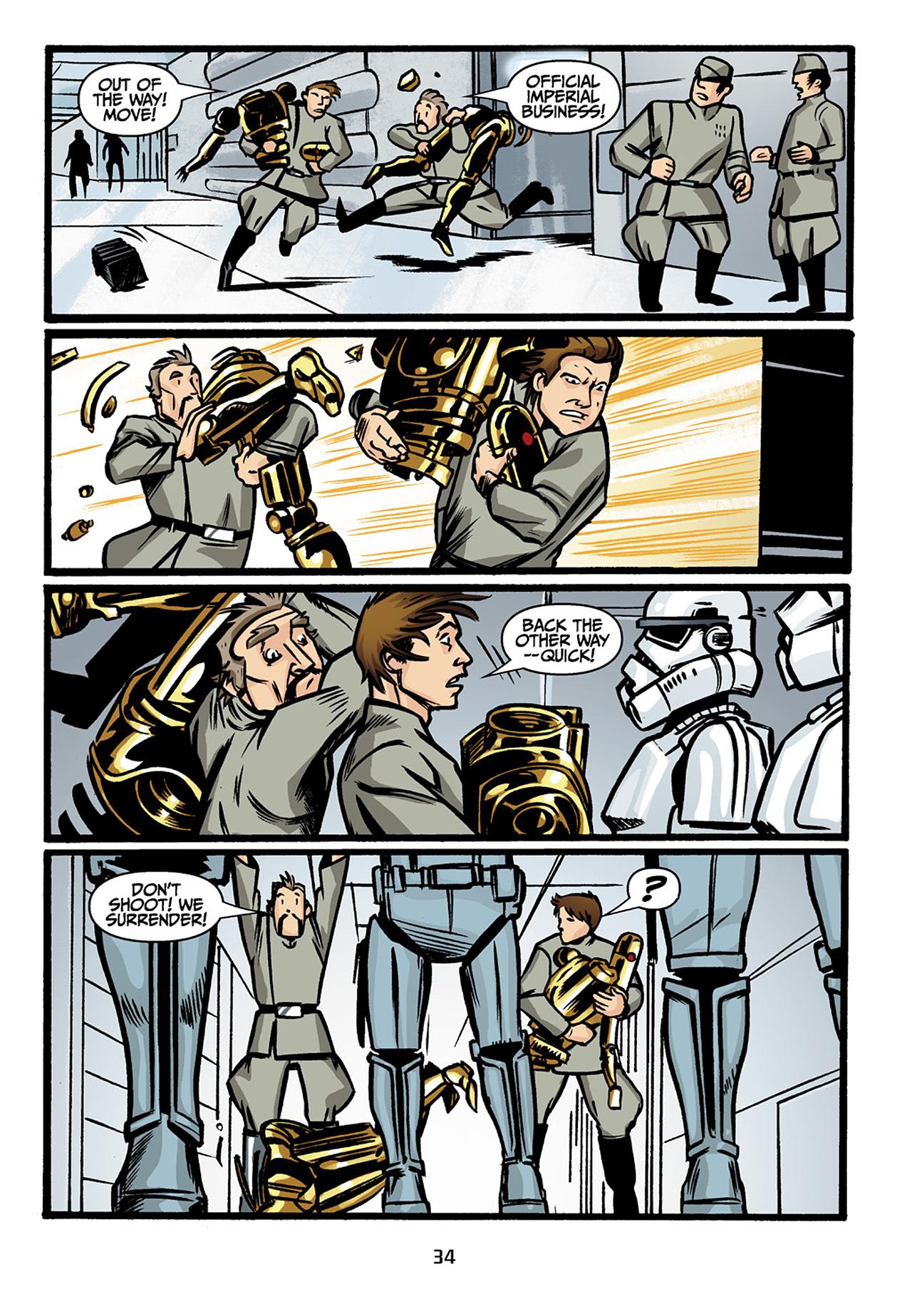 Read online Star Wars Omnibus comic -  Issue # Vol. 33 - 36
