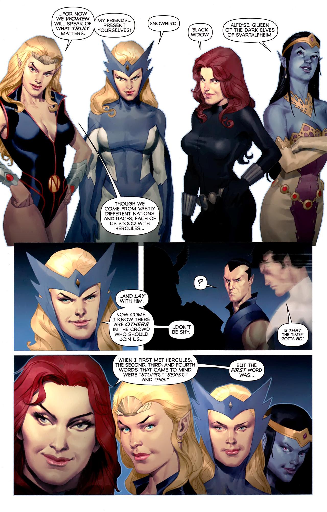 Read online Hercules: Fall of an Avenger comic -  Issue #1 - 16