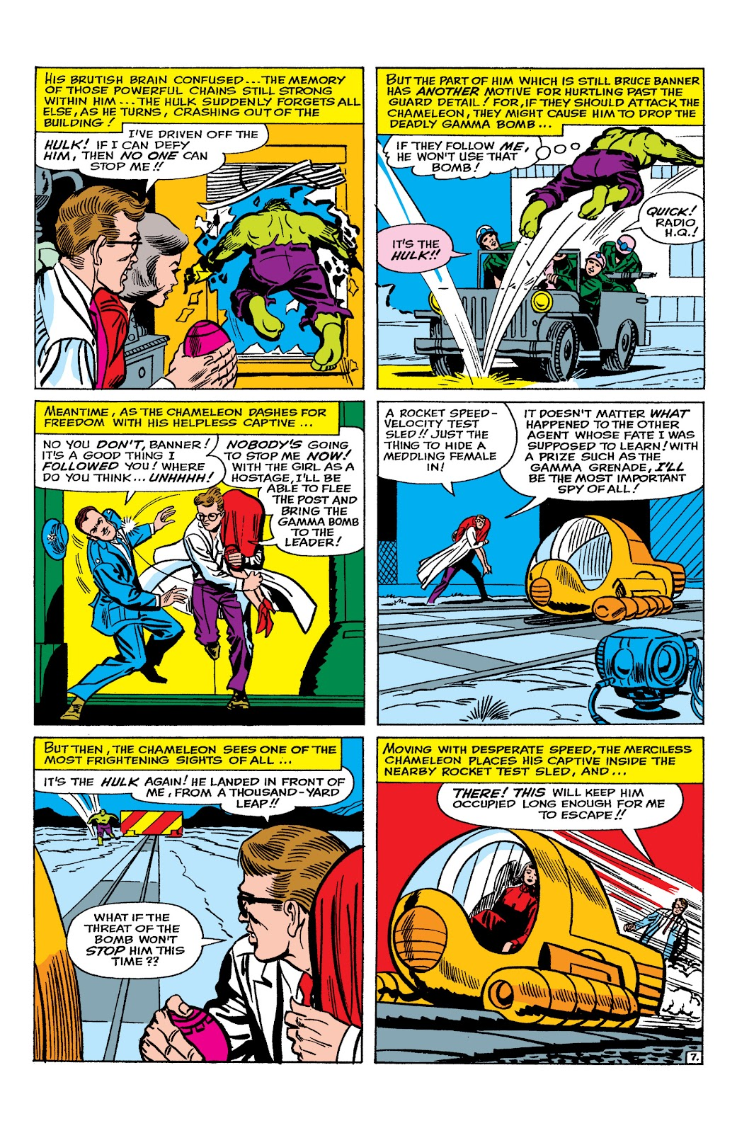 Read online Marvel Masterworks: The Incredible Hulk comic -  Issue # TPB 2 (Part 1) - 52