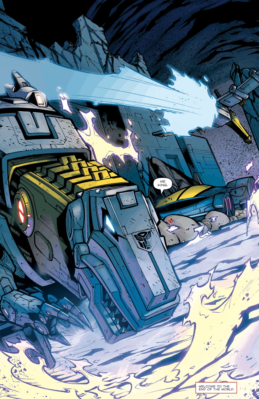 Read online Transformers Prime: Beast Hunters comic -  Issue #5 - 22