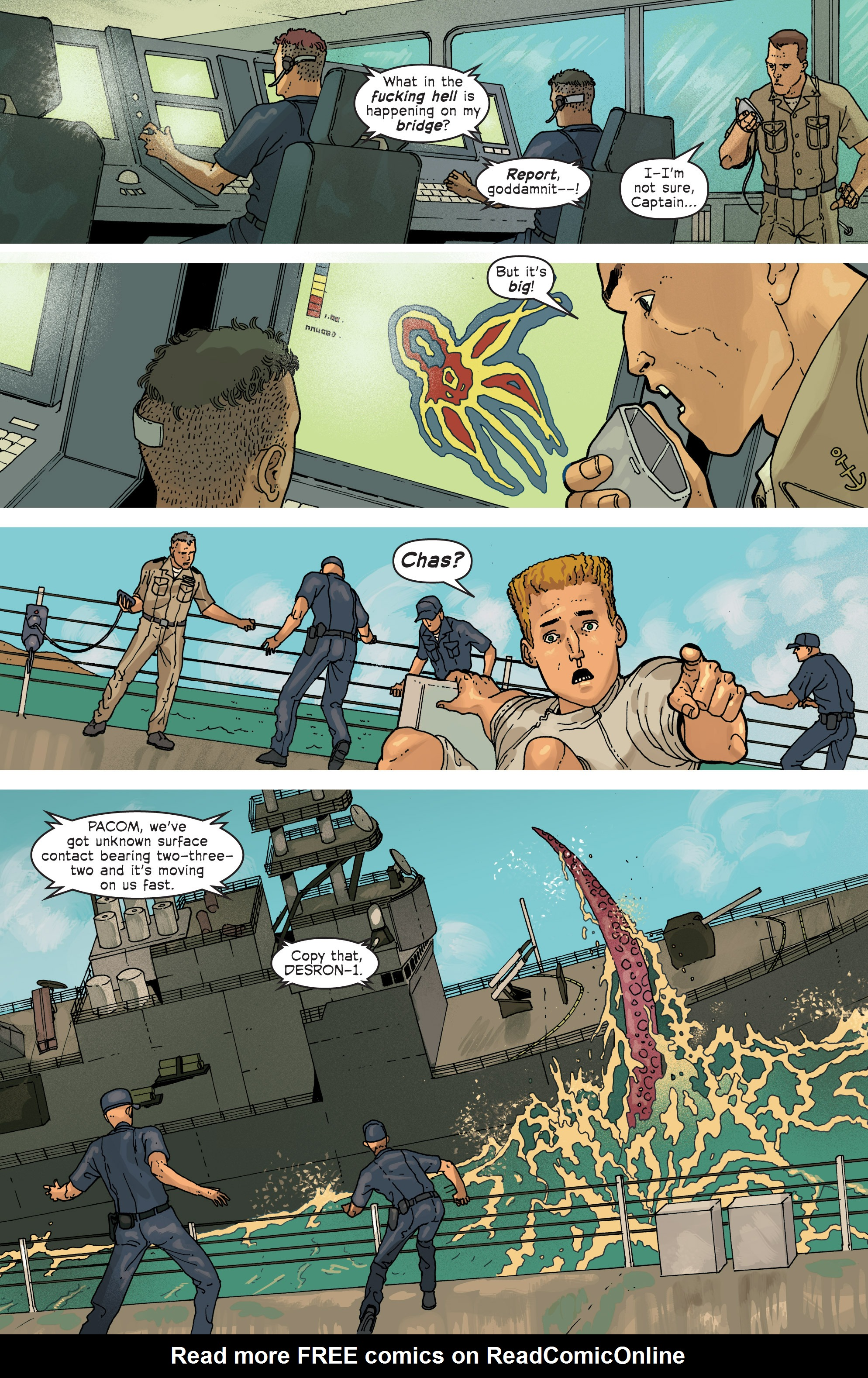 Read online Great Pacific comic -  Issue #6 - 11
