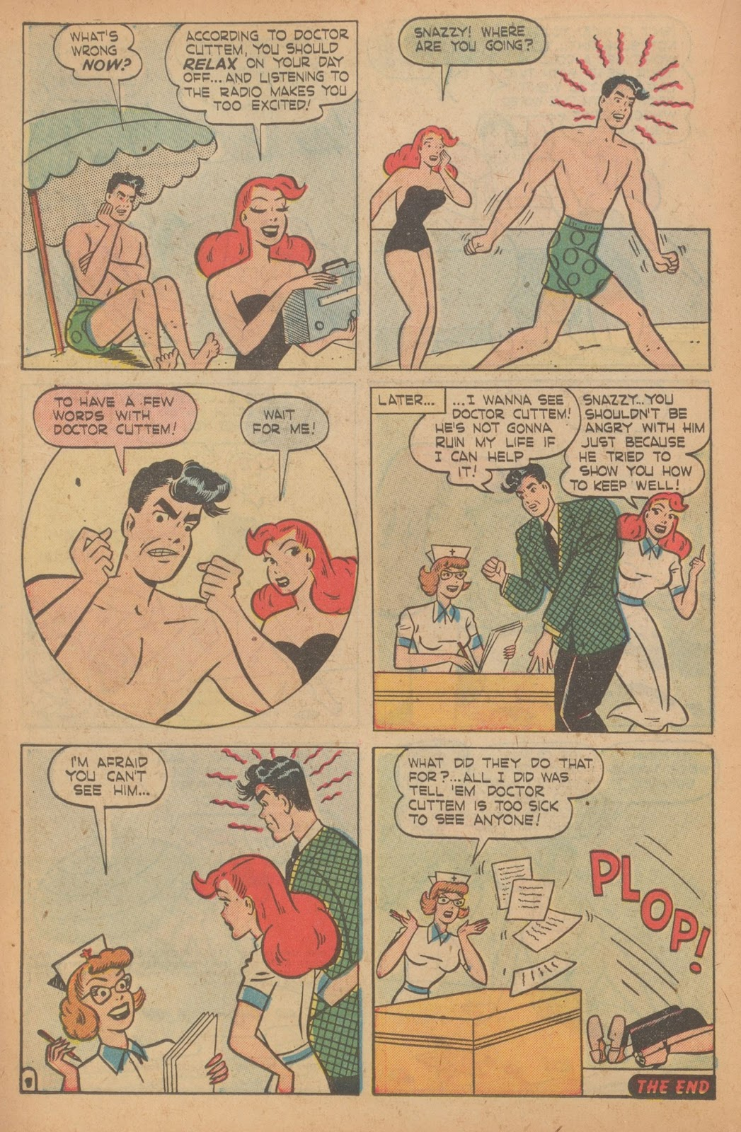Read online Nellie The Nurse (1945) comic -  Issue #22 - 18
