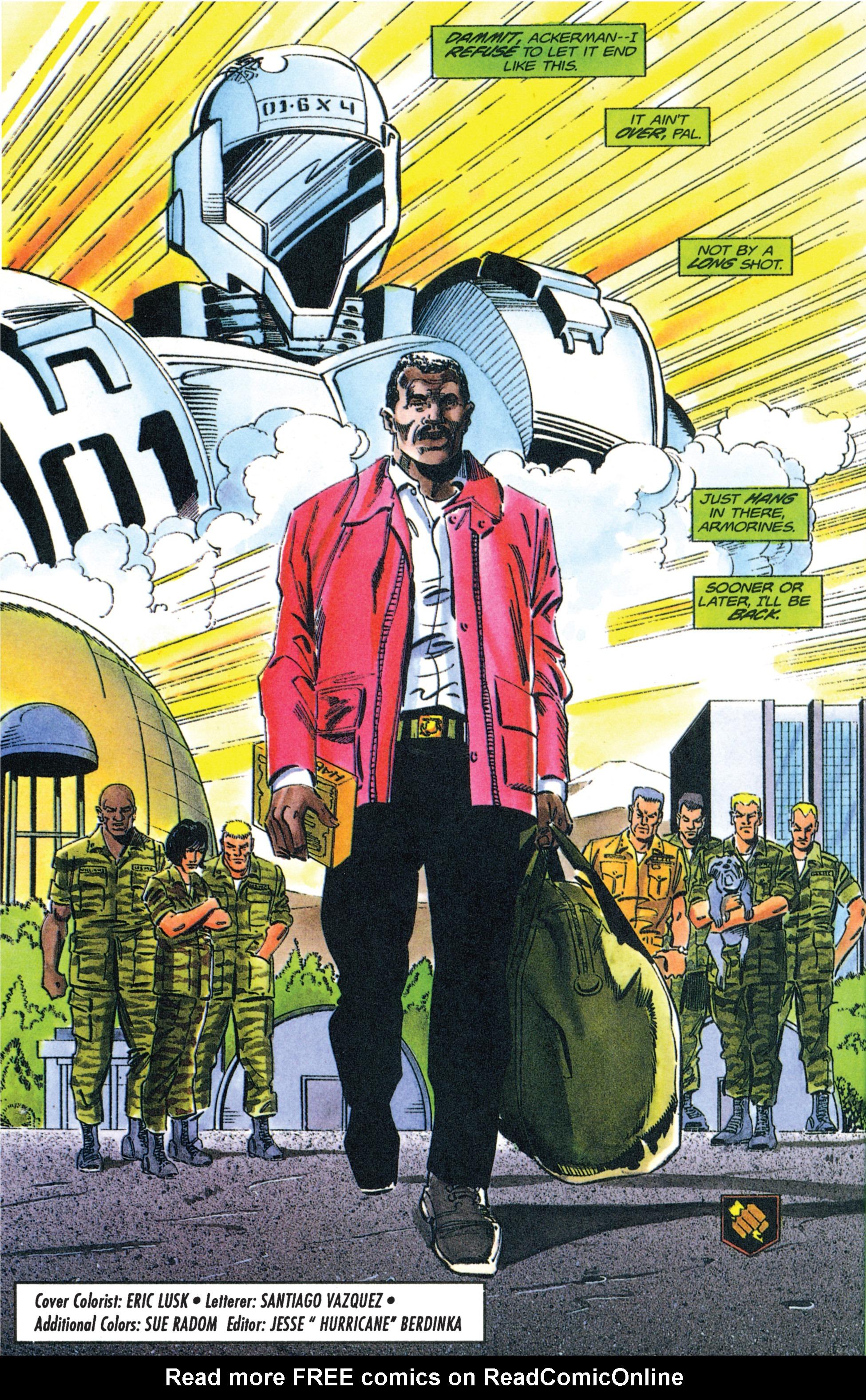 Read online Armorines comic -  Issue #12 - 22