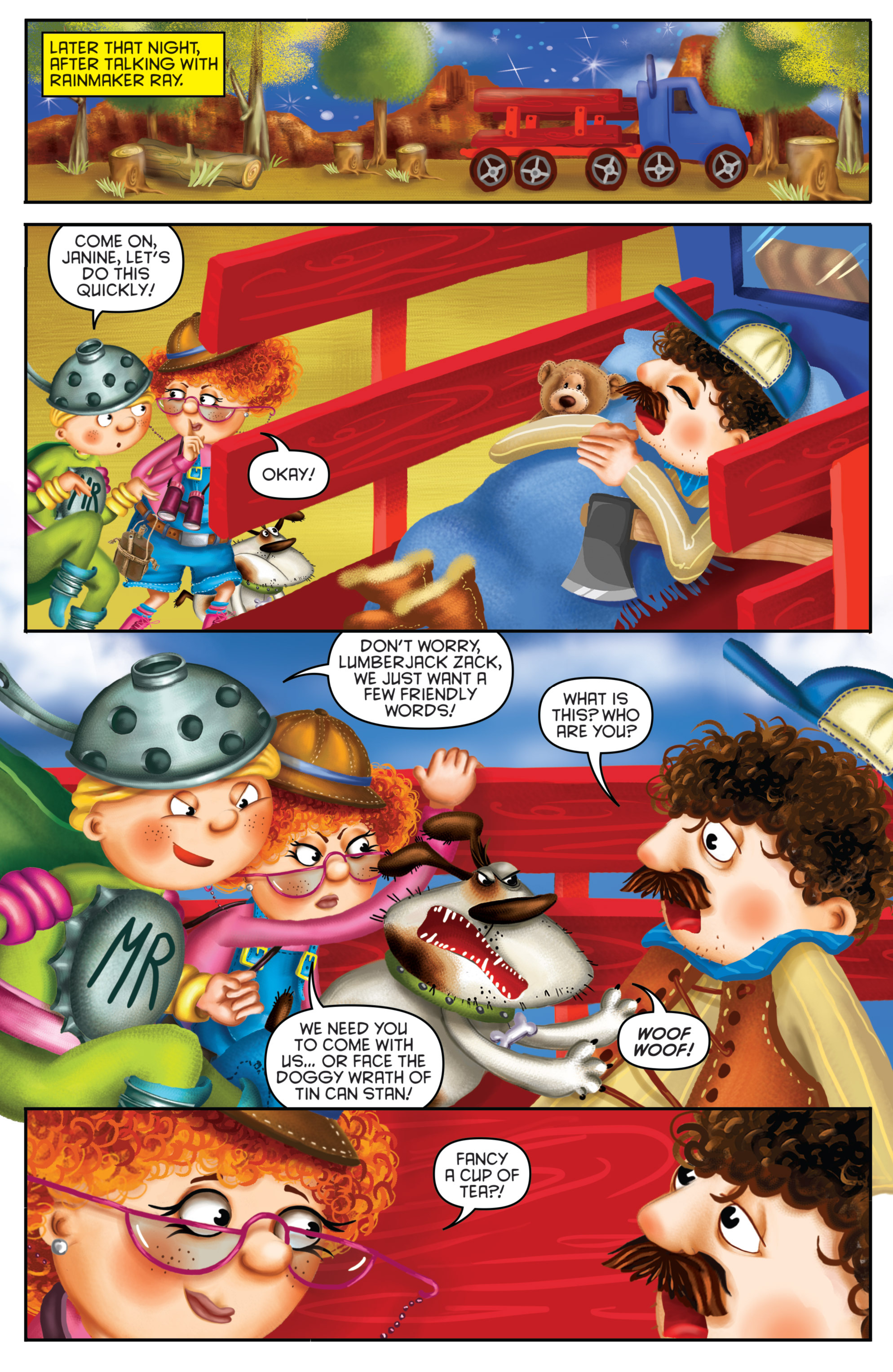 Read online Michael Recycle comic -  Issue #3 - 13