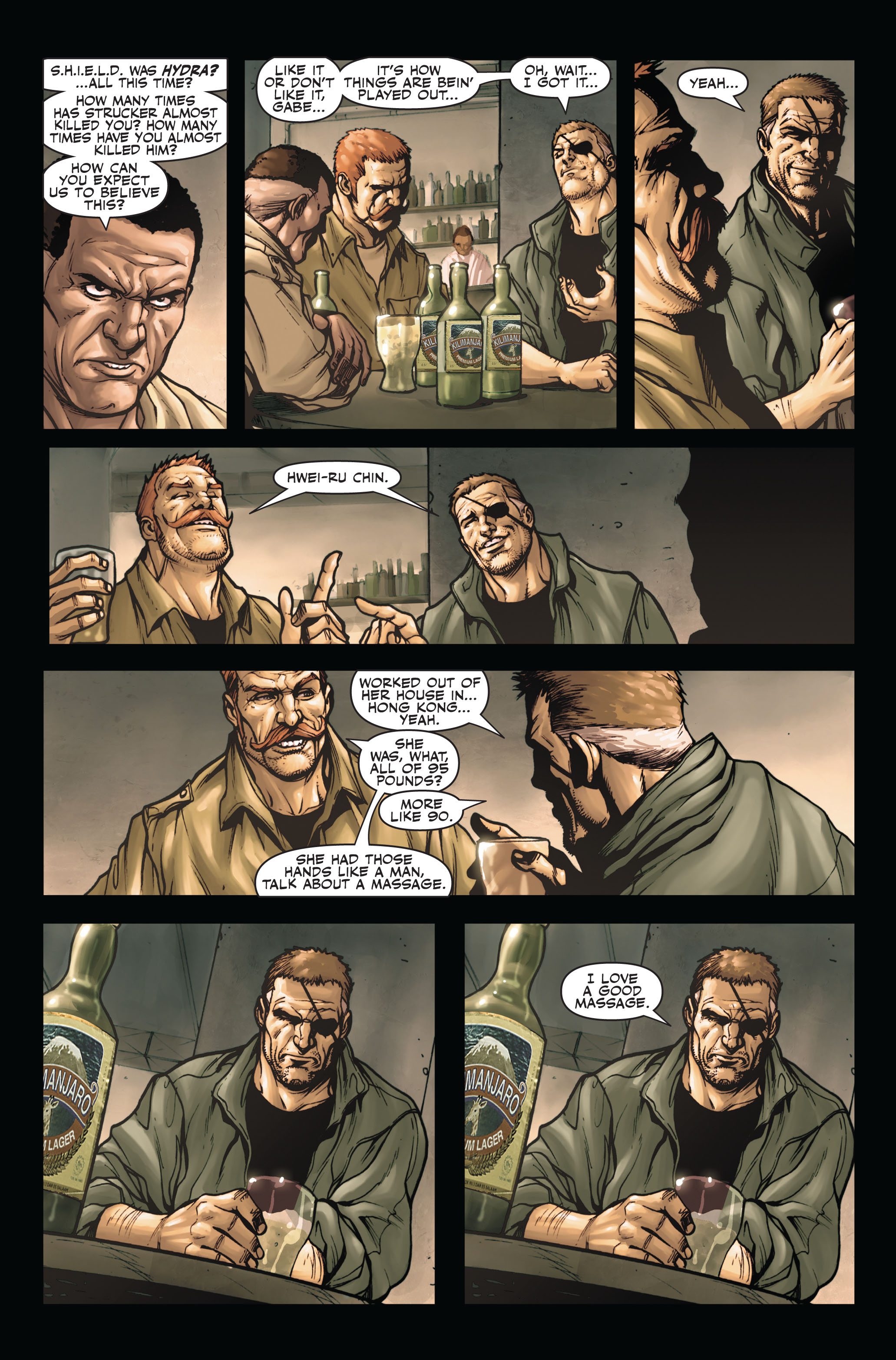 Read online Secret Warriors comic -  Issue #4 - 15