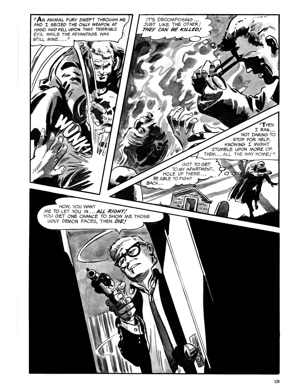 Read online Eerie Archives comic -  Issue # TPB 2 - 130