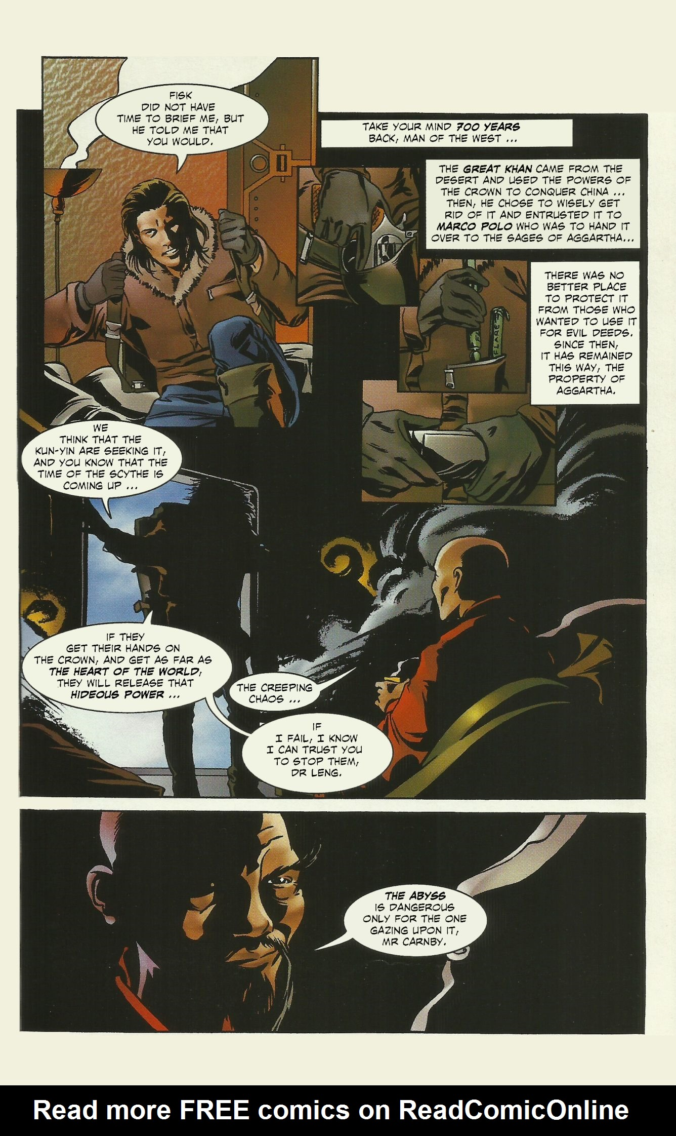 Read online Alone In The Dark comic -  Issue # Full - 10