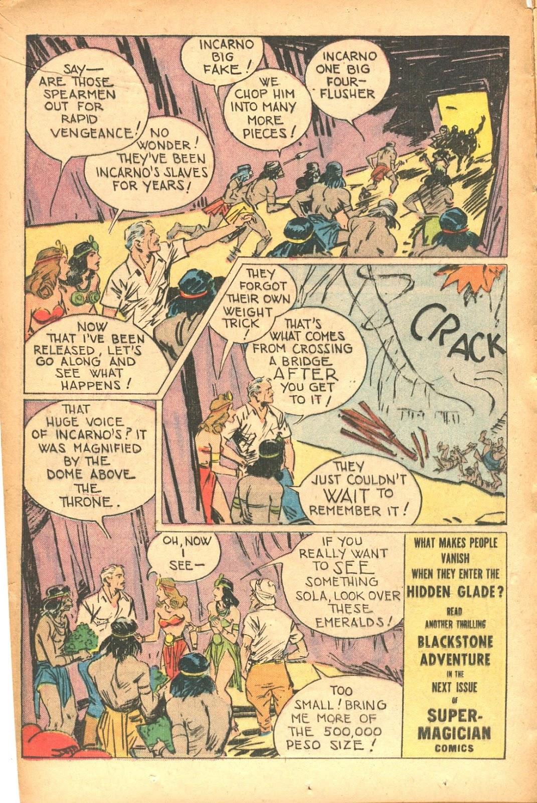 Read online Super-Magician Comics comic -  Issue #35 - 16