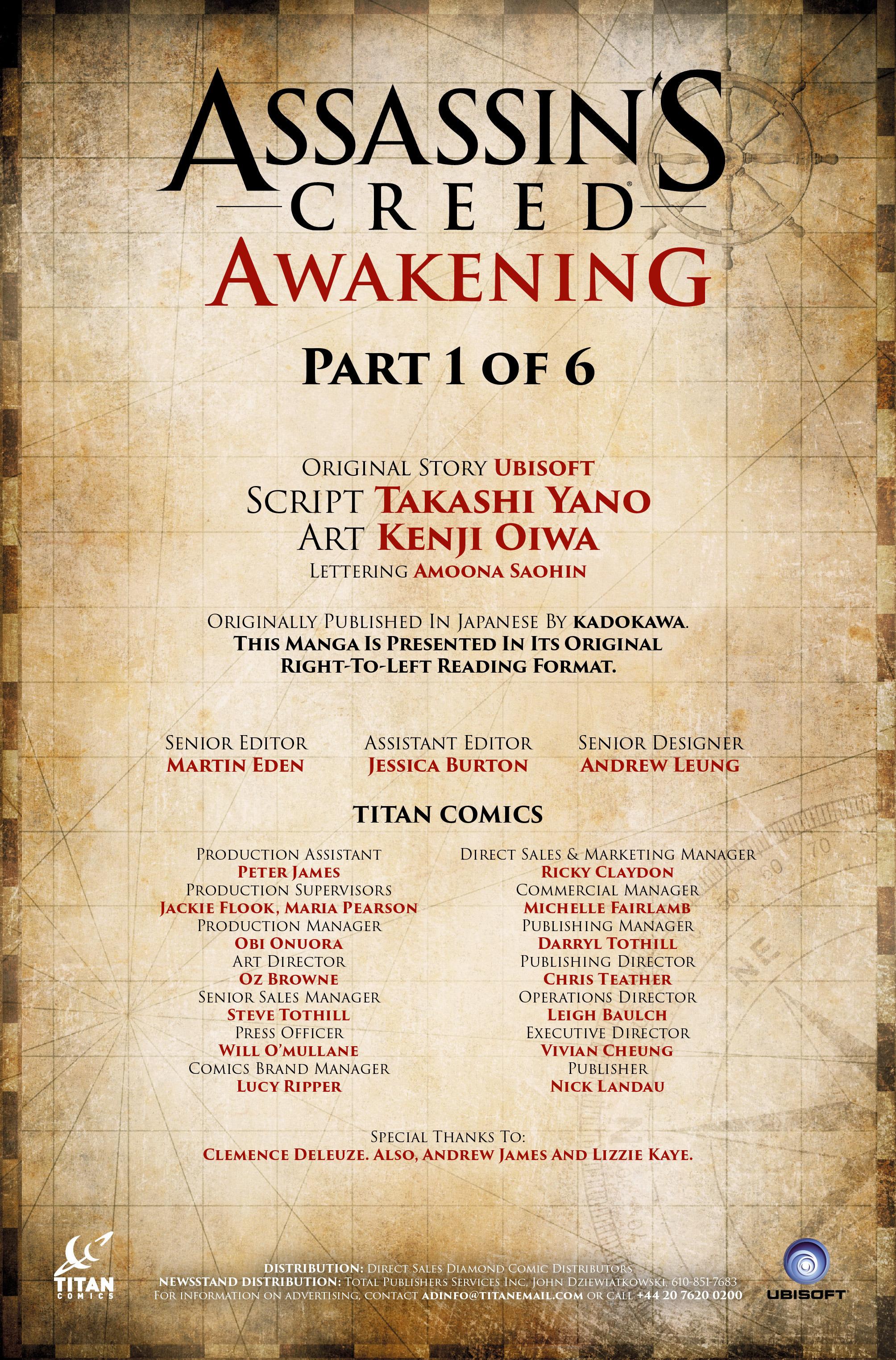 Read online Assassin's Creed: Awakening comic -  Issue #1 - 37